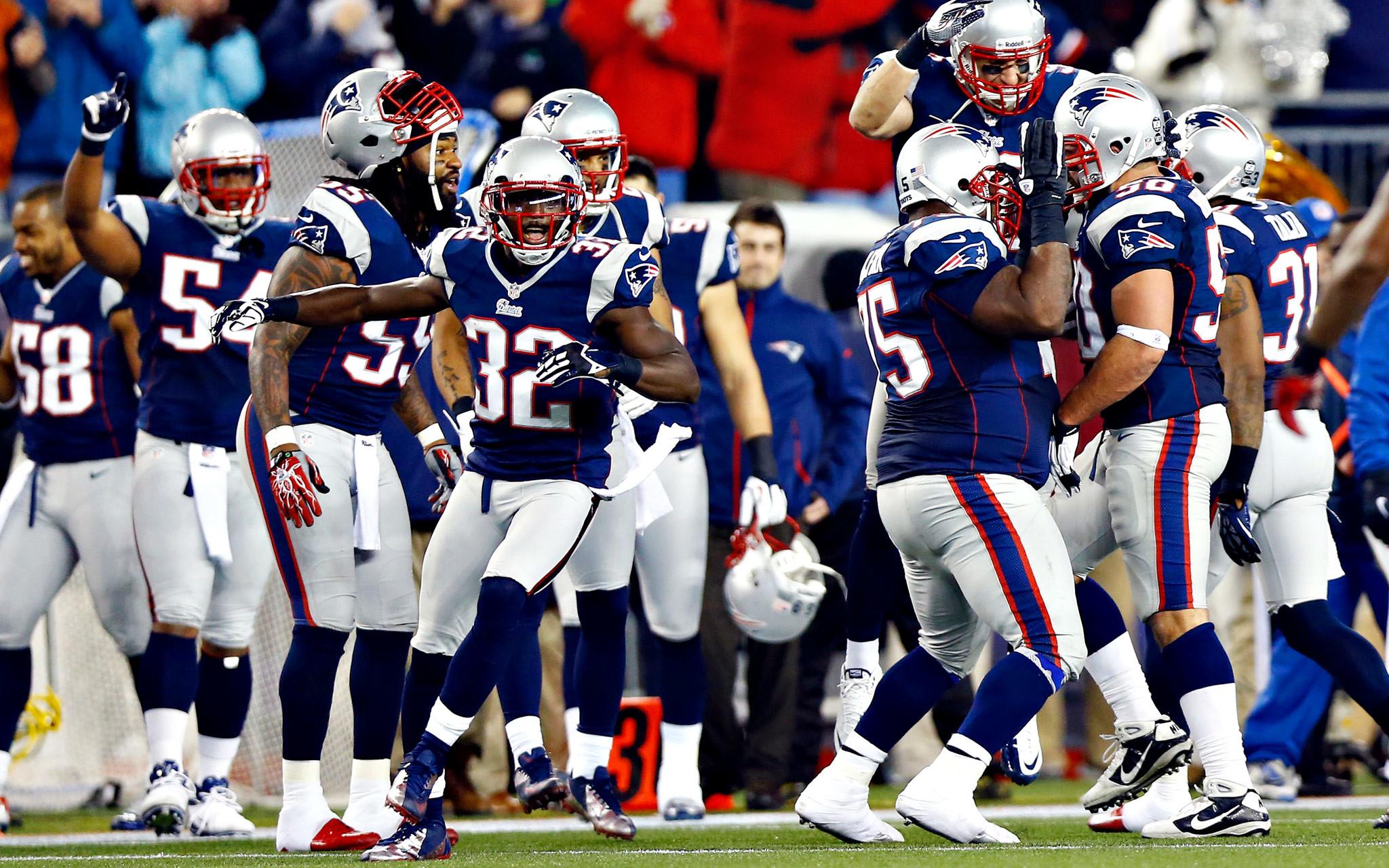 New England Patriots HD Desktop Wallpaper