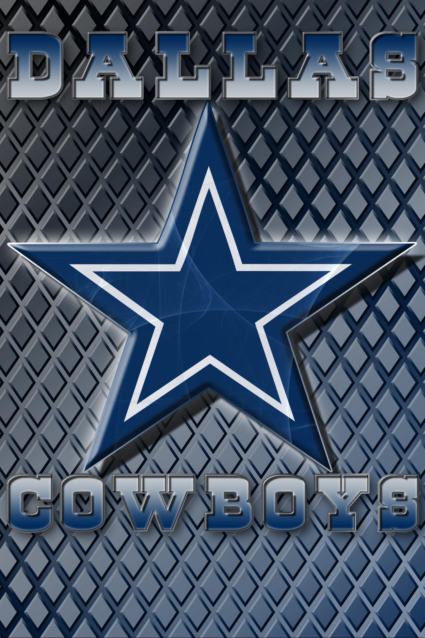 Wallpapers By Wicked Shadows: Dallas Cowboys Logo Wallpaper