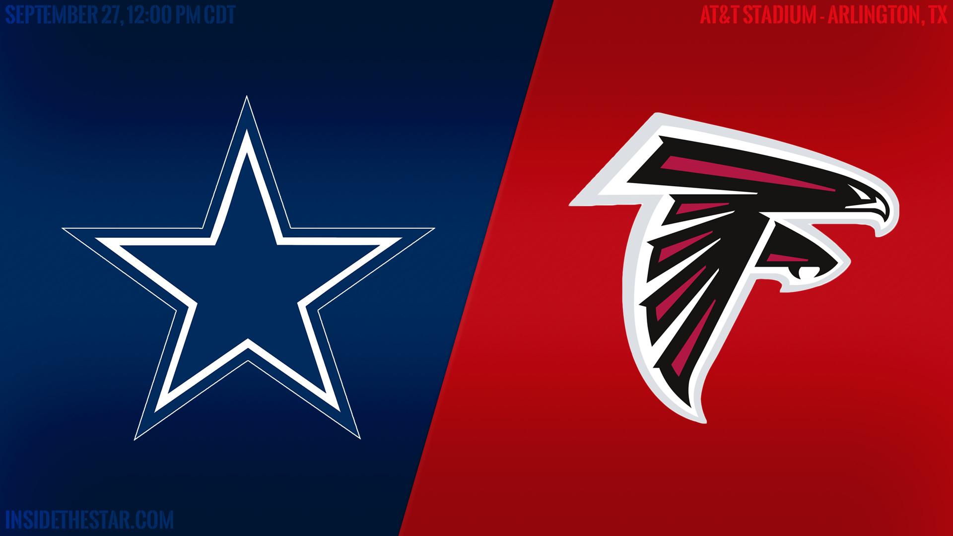 Cowboys Blog – #SmoothView Pregame Report: Dallas Cowboys vs Atlanta Falcons