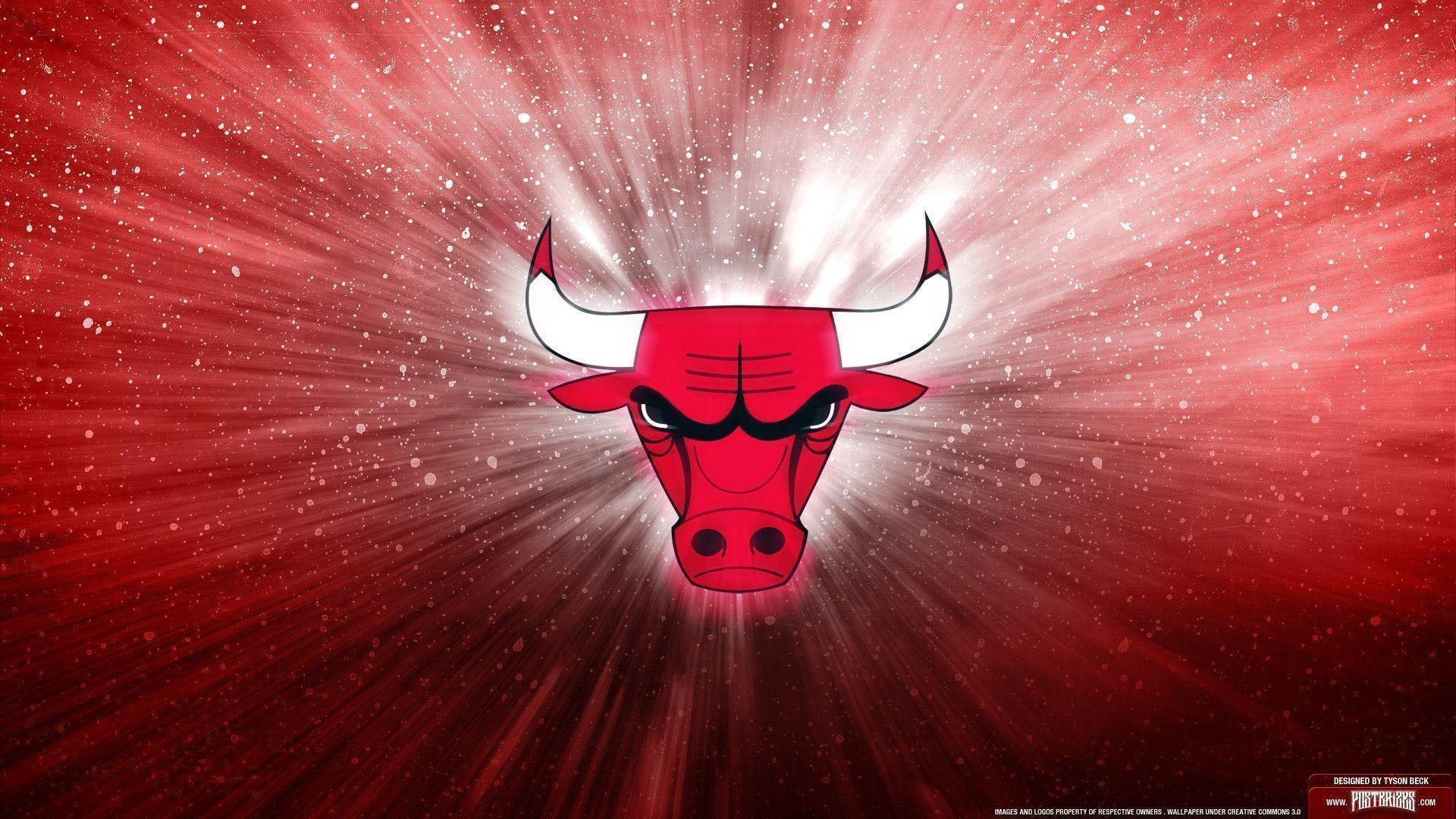 Chicago Bulls Logo Wallpaper   Posterizes   NBA Wallpapers .