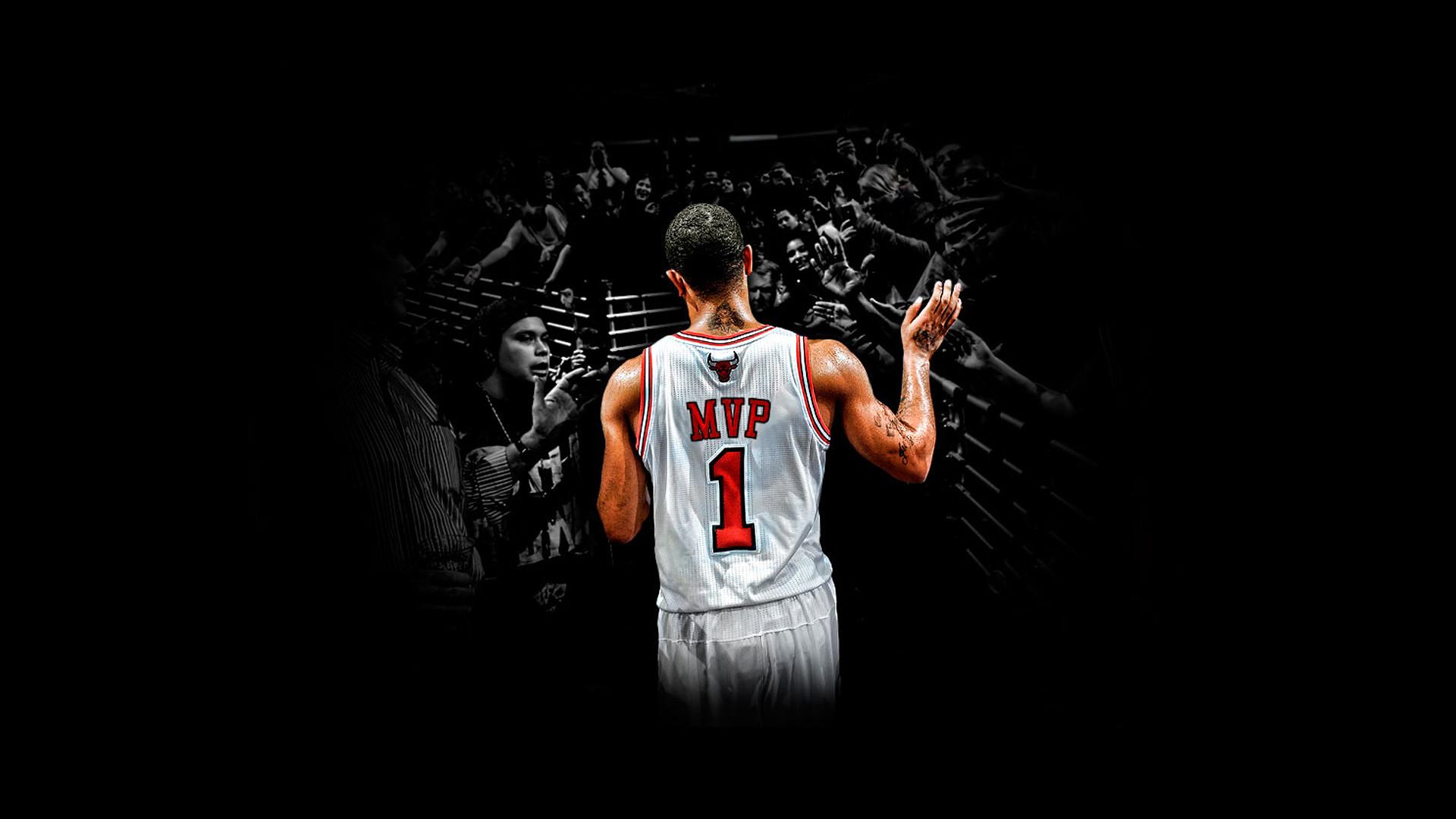 Chicago Bulls 1 Derrick Rose wallpaper