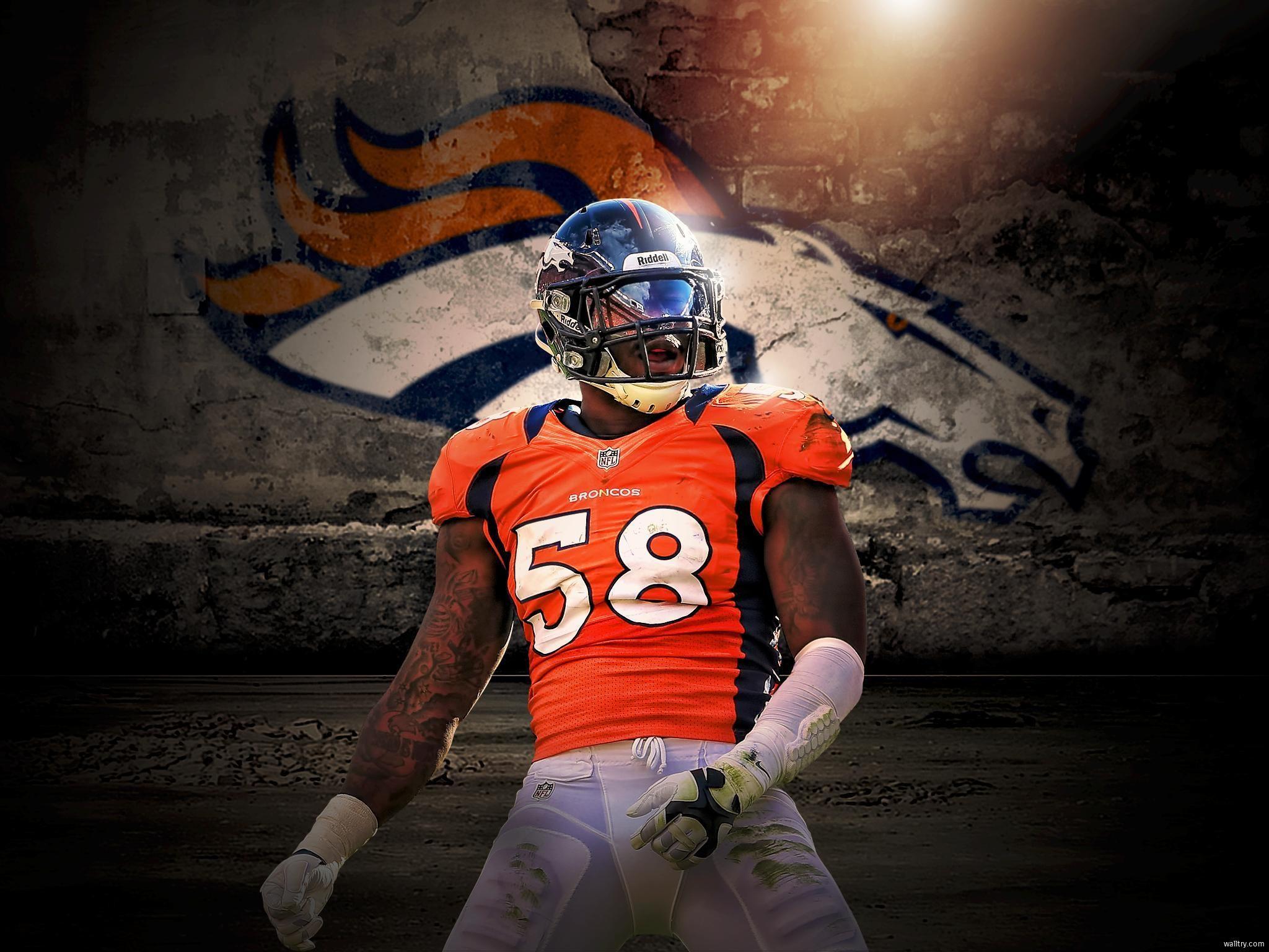 Von Miller Wallpaper · Denver Broncos …