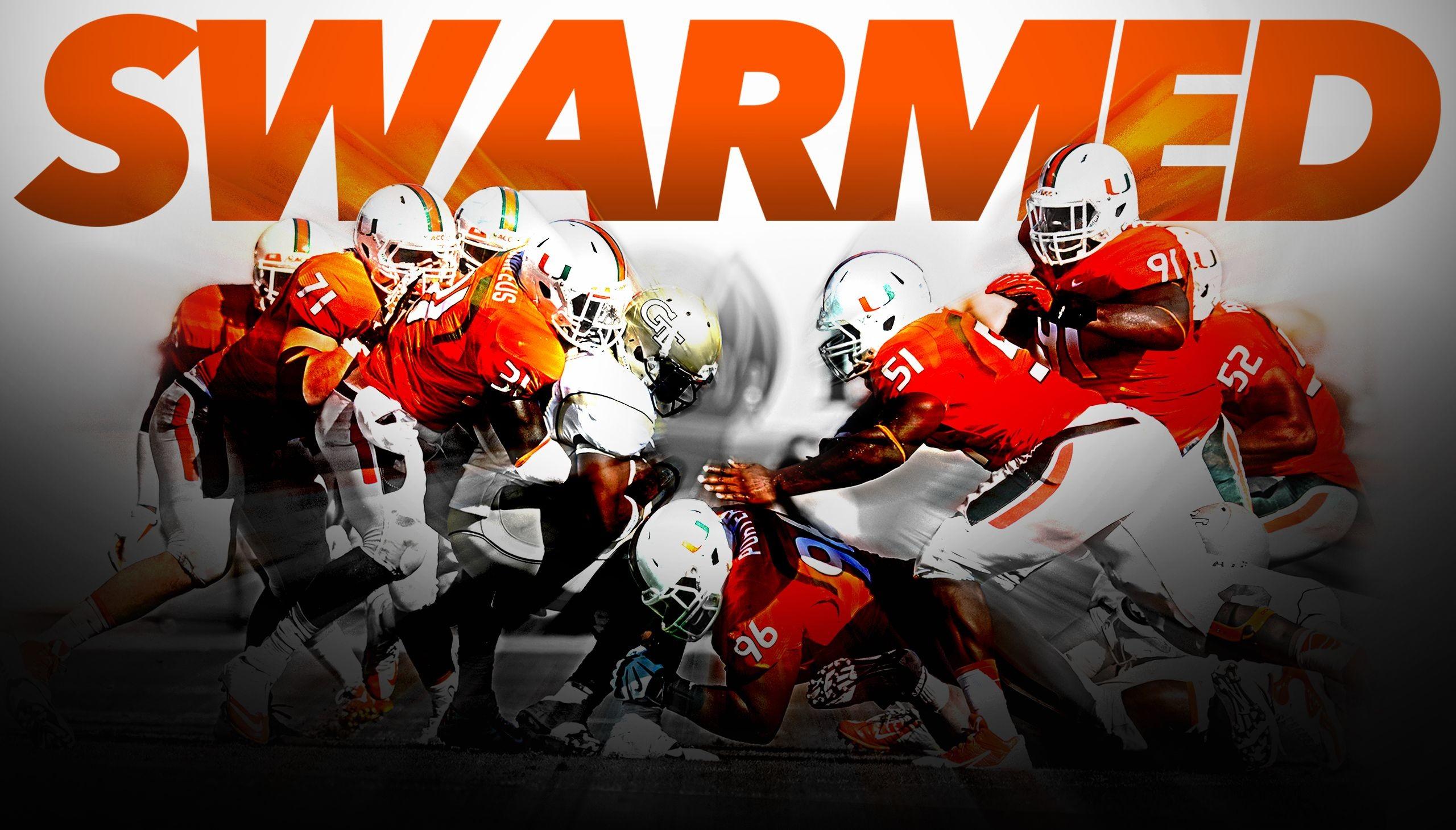 Canes Sting Jackets, 45-30 – University of Miami Hurricanes .