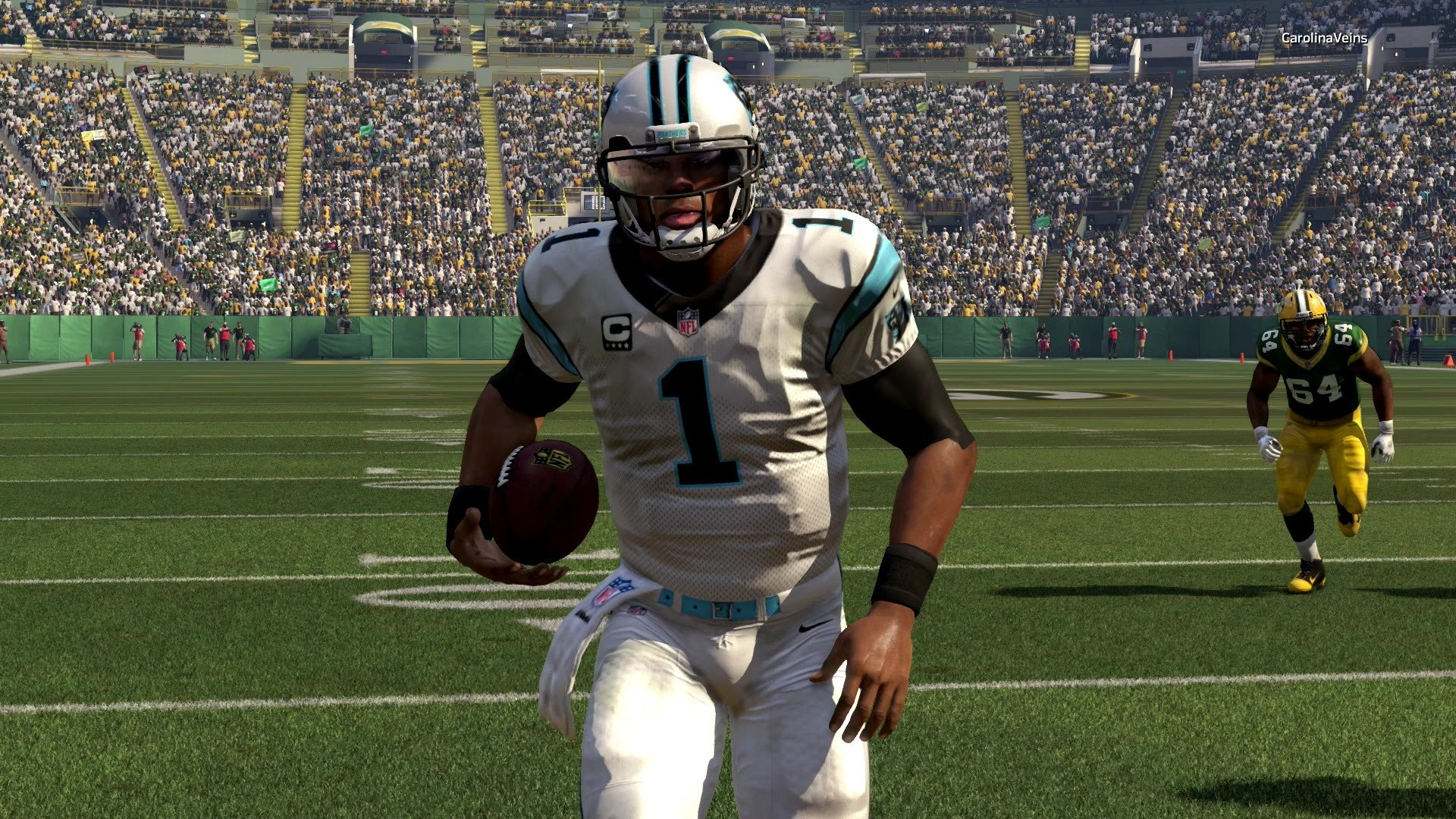 CAM NEWTON AND AARON RODGERS STAR IN BREATHTAKING FINISH – Madden 16 Online  Gameplay