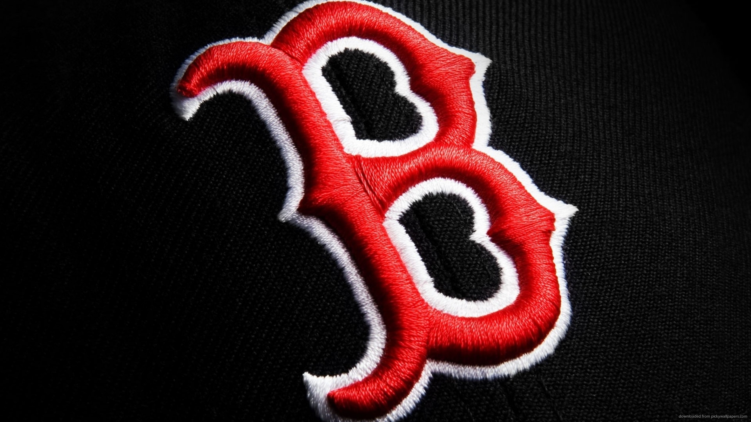 Boston Red Sox Fabric Logo for 2560×1440