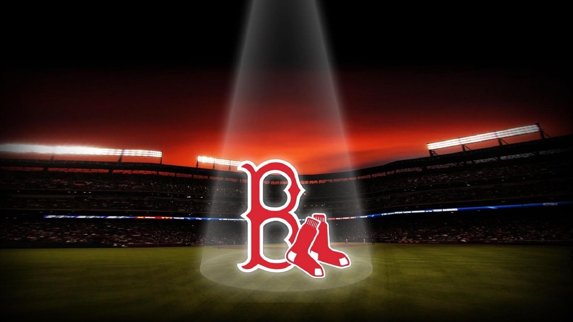 Baseball, Boston Red Sox, Red Sox Logo, Boston Red Sox Logo Stadium Art