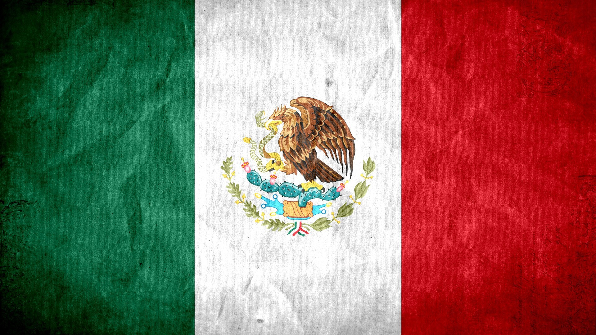 Mexican Flag Wallpapers Page 1