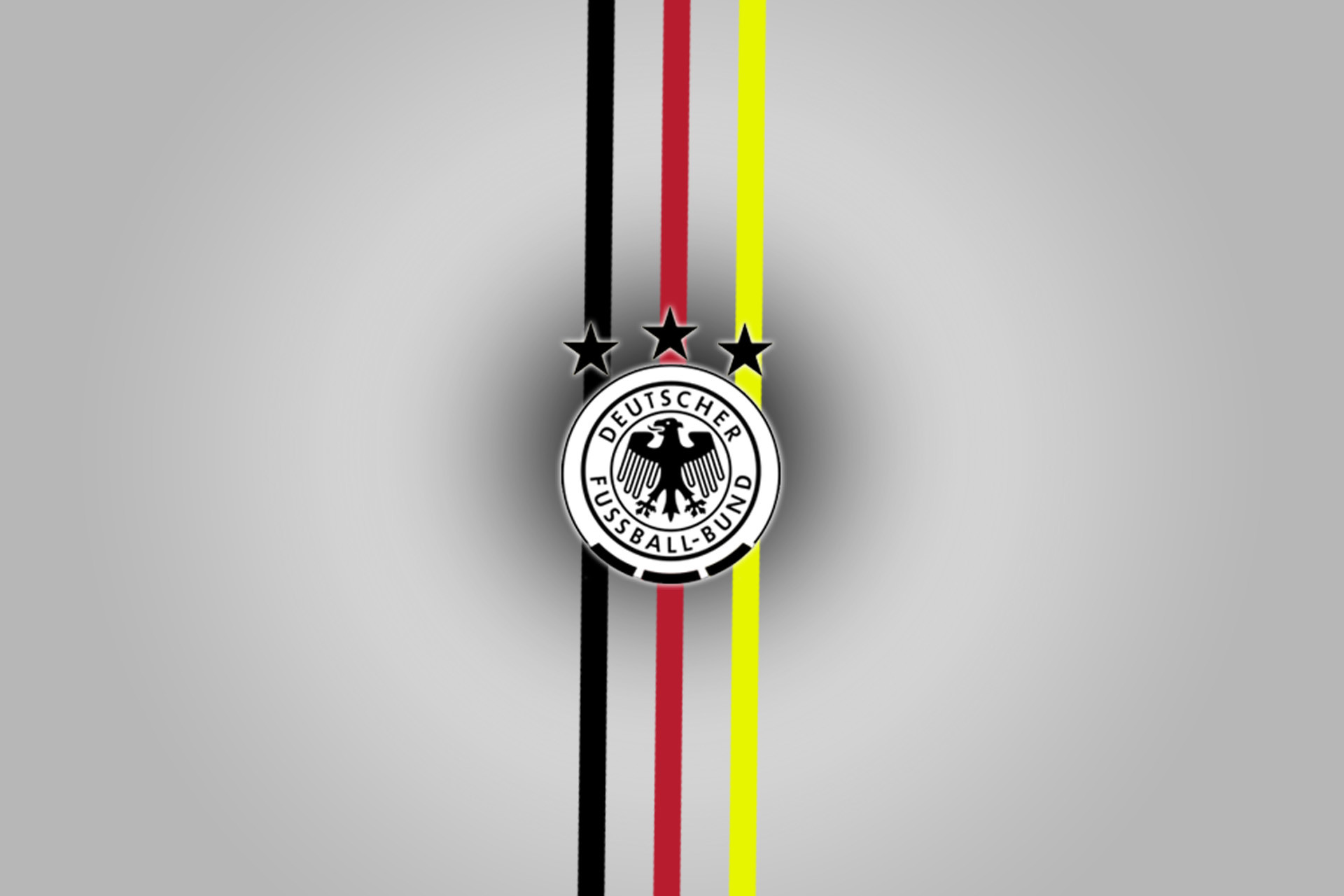 Deutscher Fußball-Bund Logo Superimposed on the German Flag 720 | Football team  logos and Football team