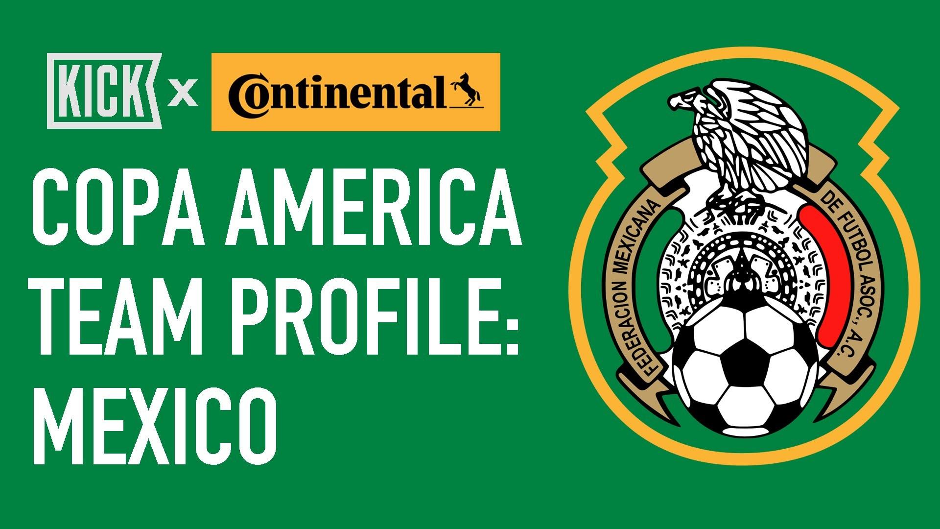Mexico: Copa America Team Profile