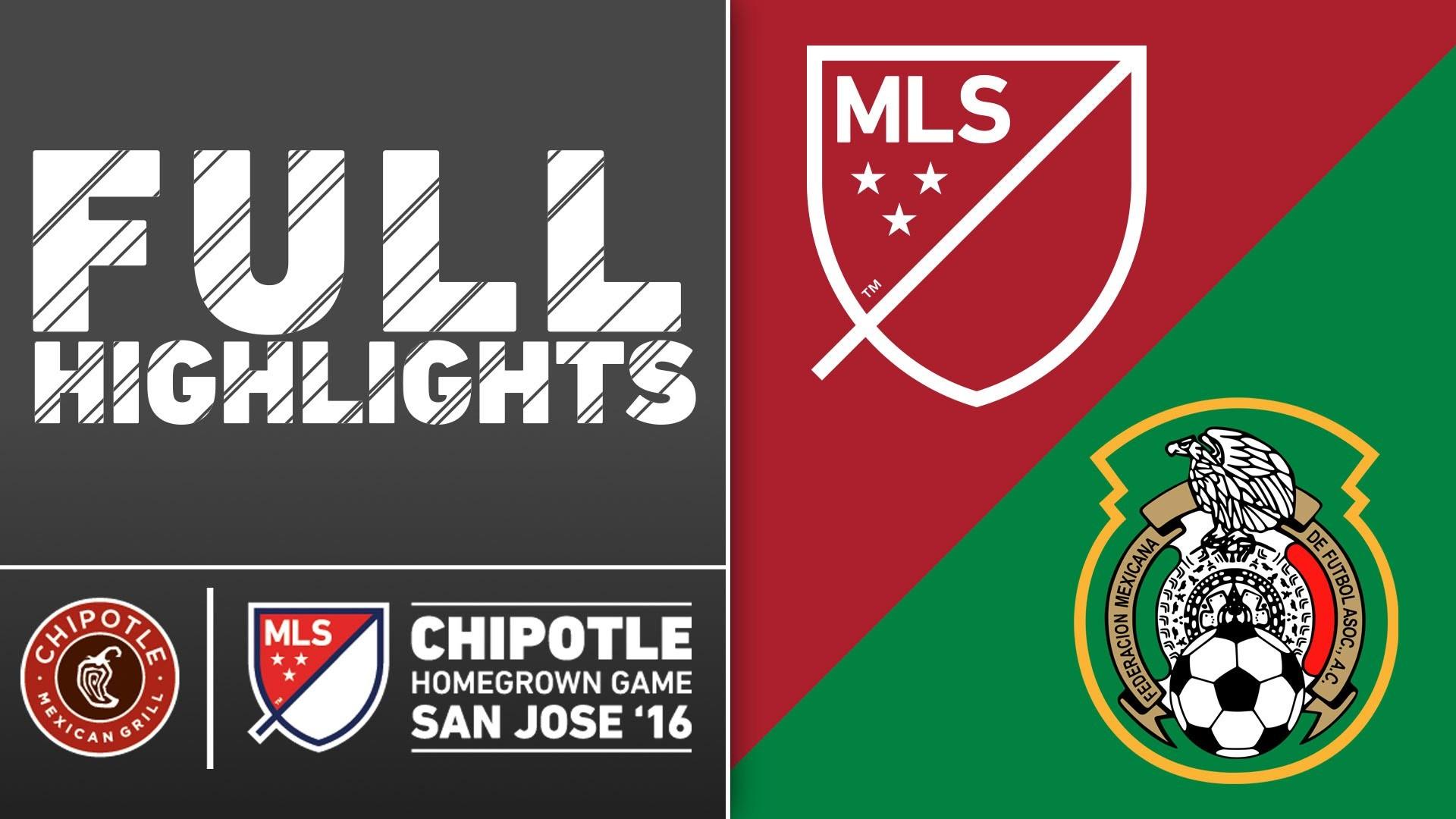 HIGHLIGHTS | MLS Homegrown Team 0-2 Mexico Under-20 Men's National Team