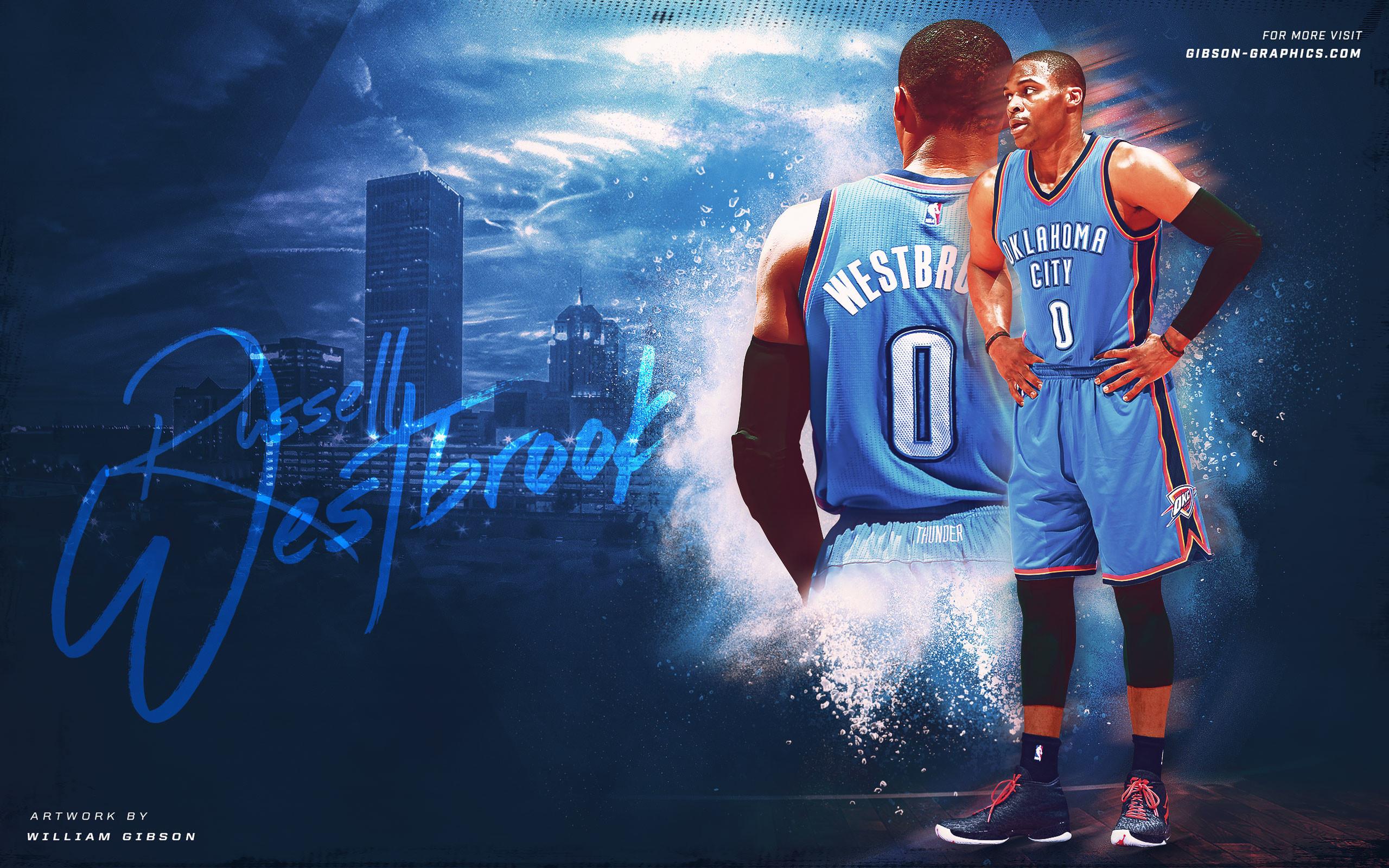 Russell Westbrook OKC Thunder 2016 Wallpaper