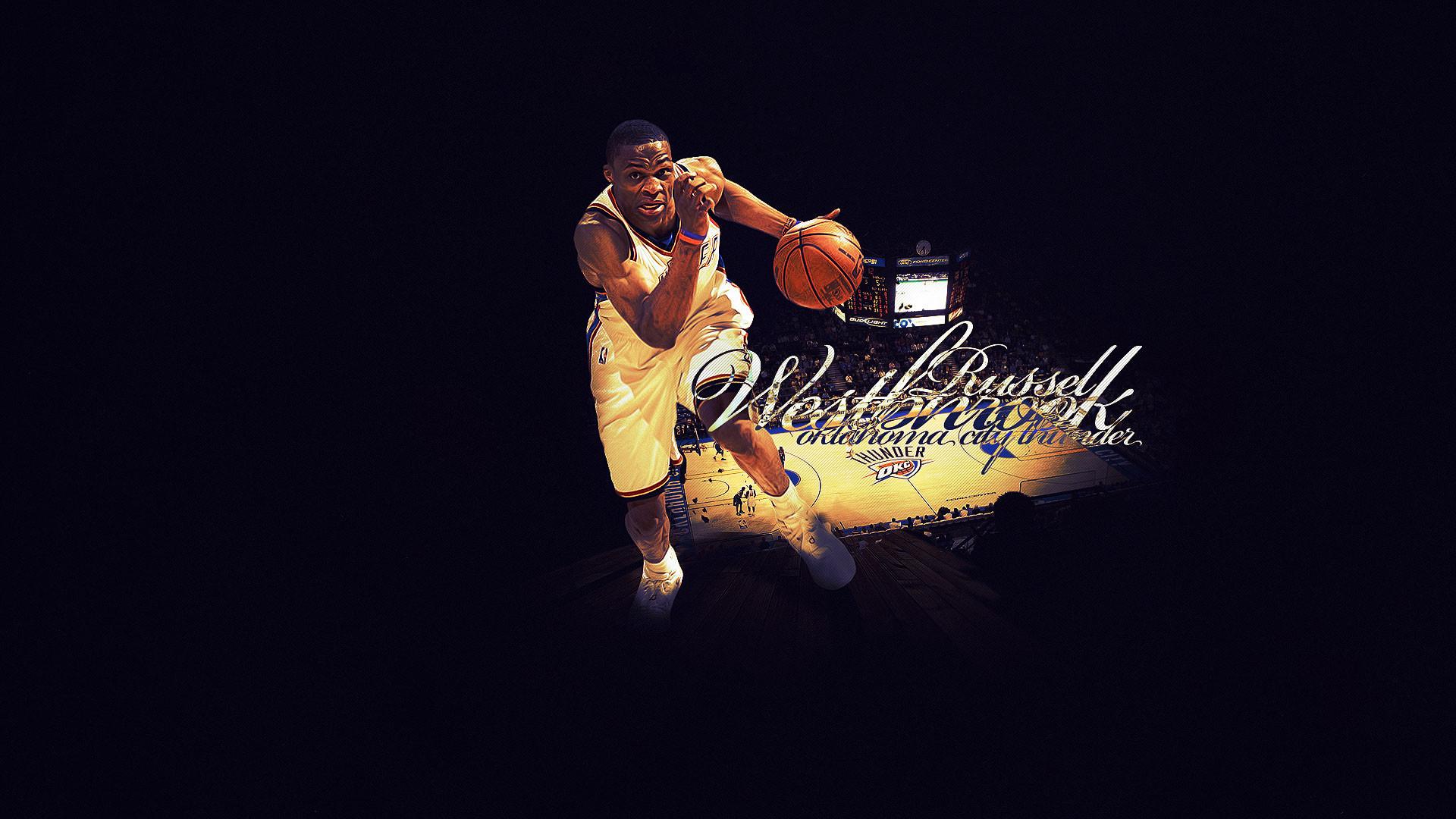 Russell Westbrook Thunder Widescreen Wallpaper | Basketball Wallpapers .