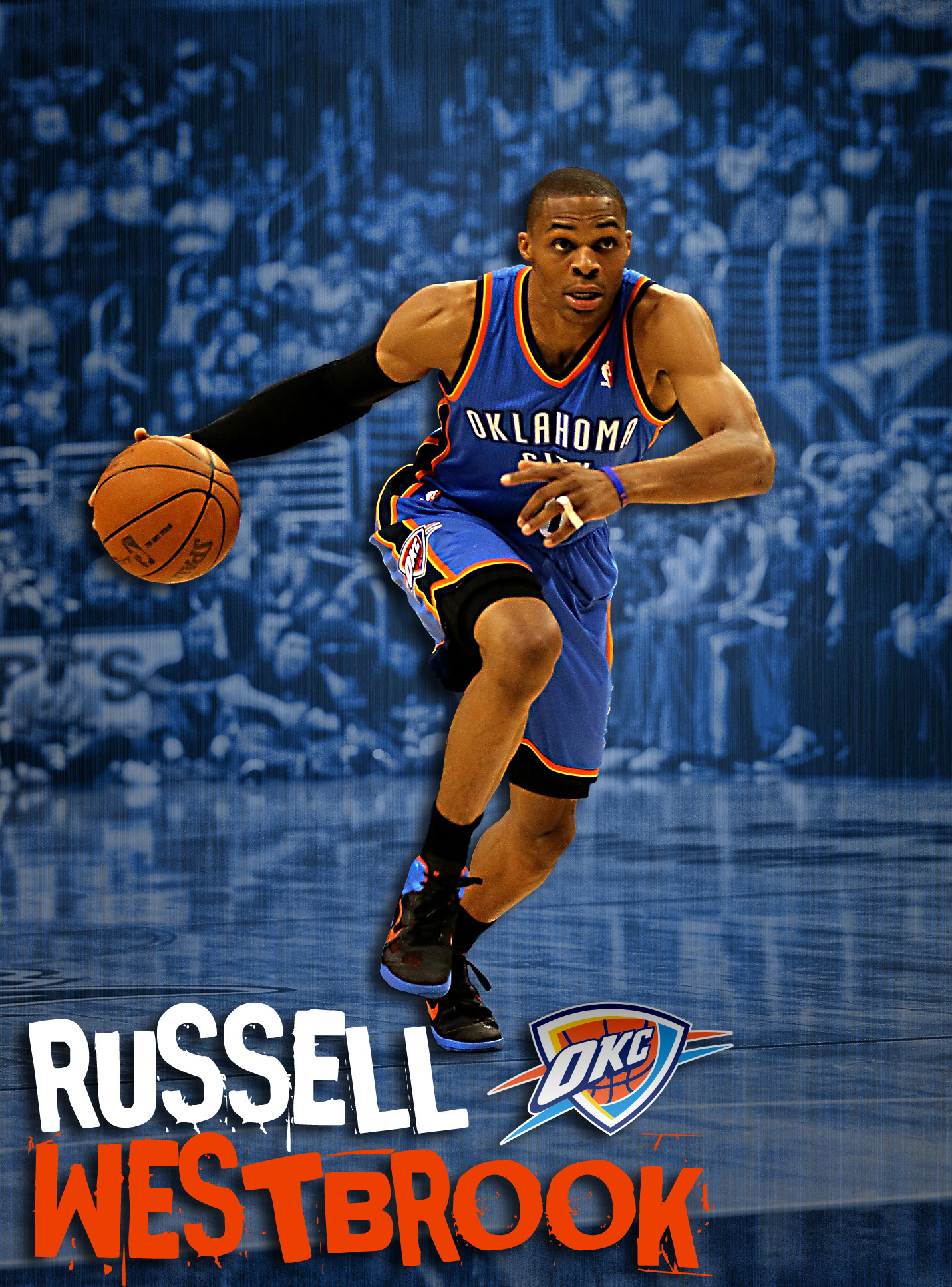 Russell Westbrook 0 by rhurst Russell Westbrook 0 by rhurst