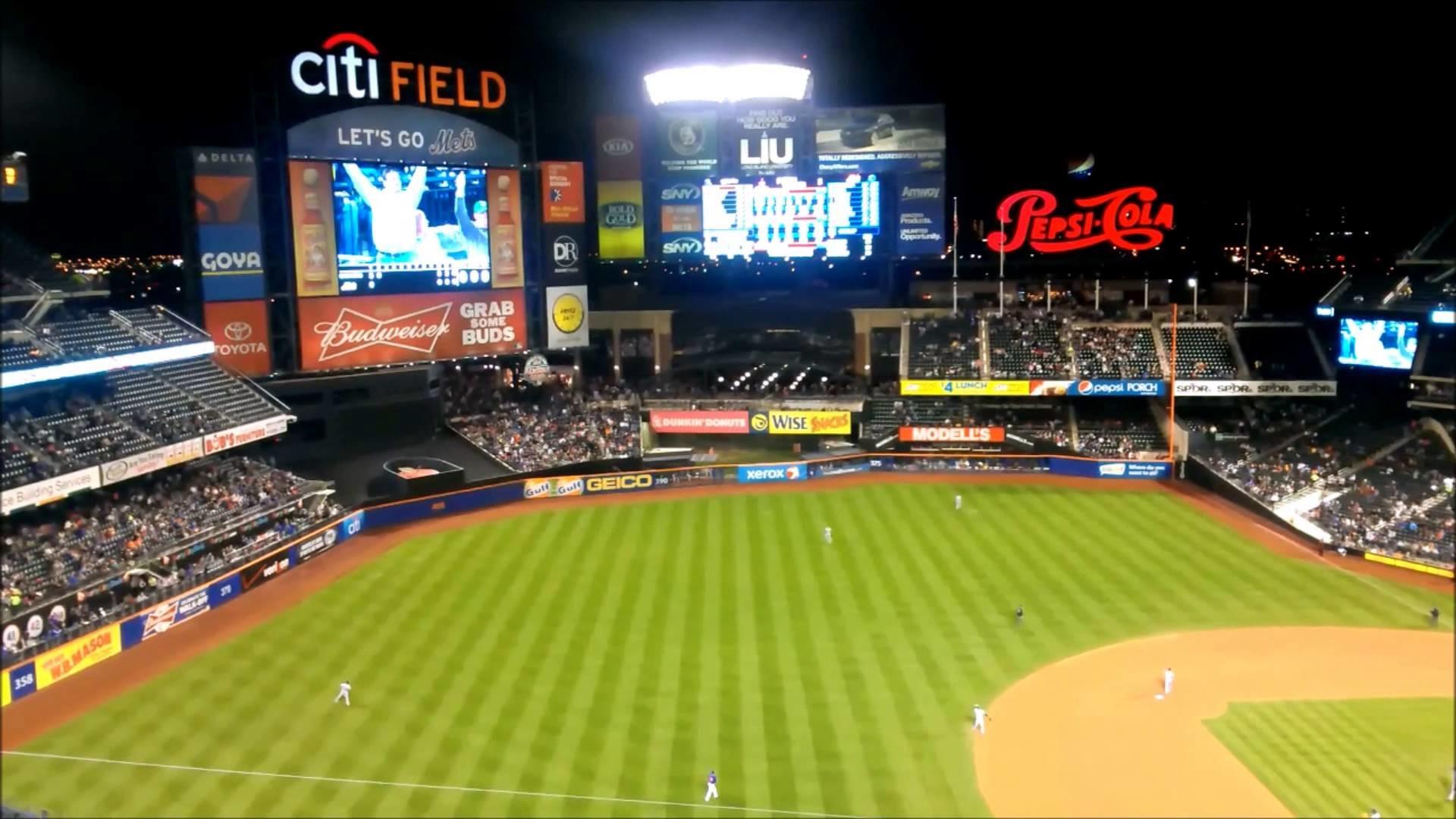 Baseball Game – New York Mets – Milwaukee Brewers at Citi Field, New York  City – part 1 – YouTube