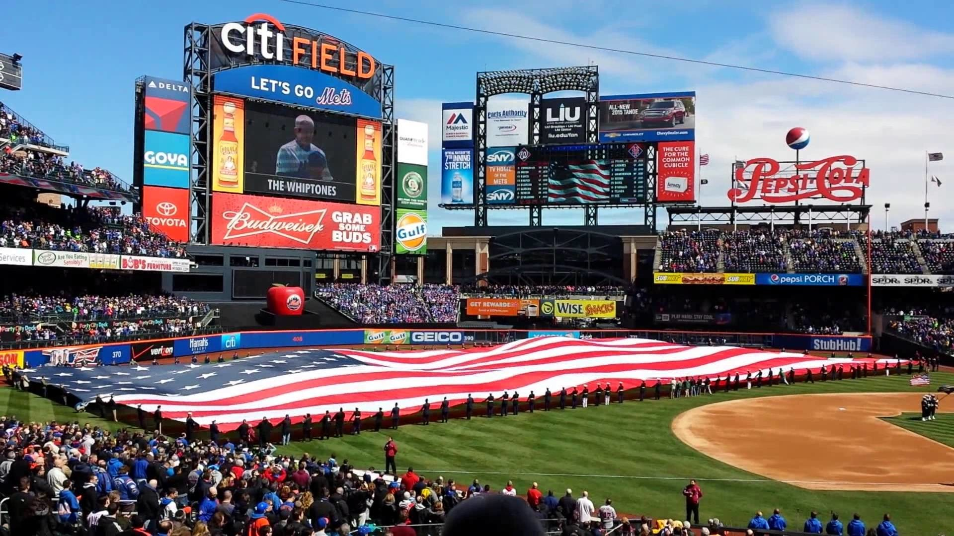 2014 Opening day @ Citi field for the Mets vs Nats