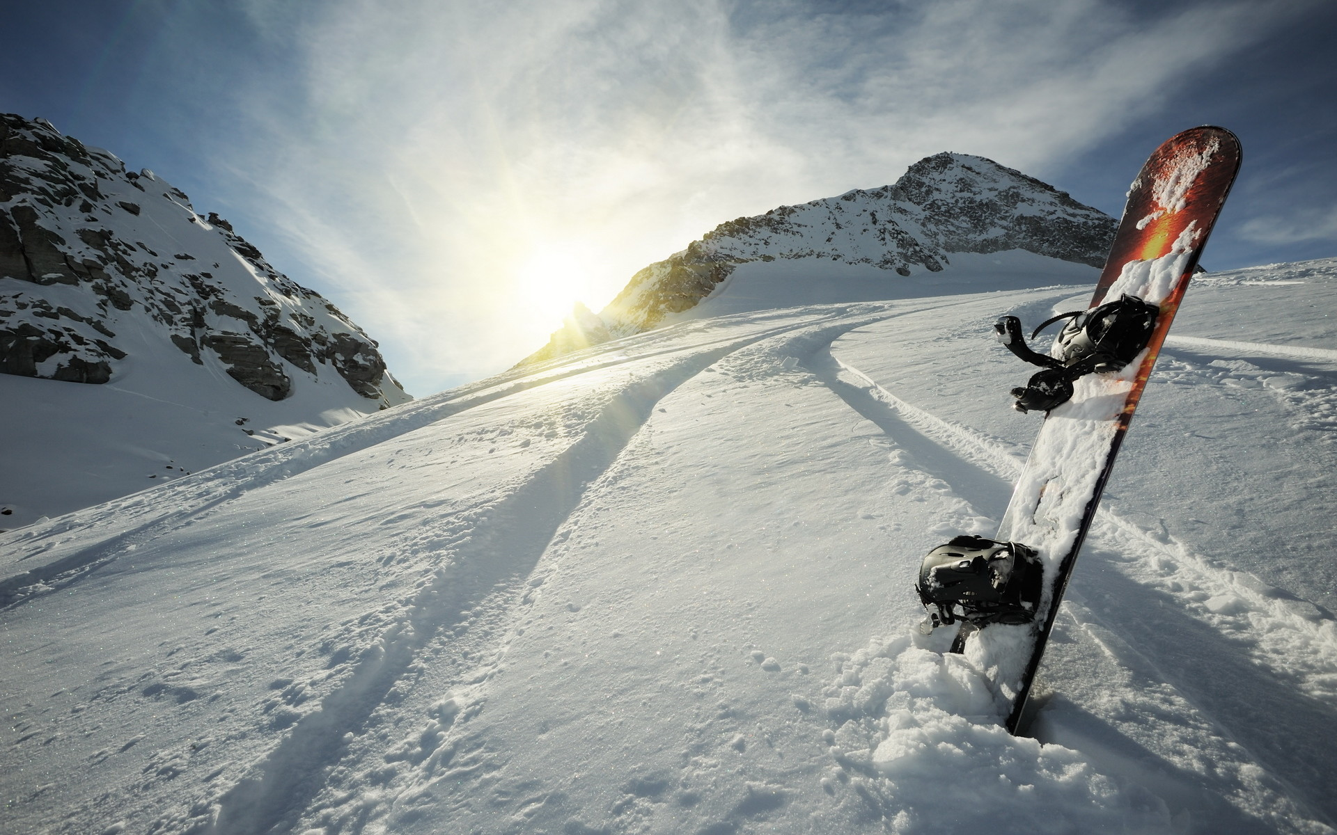 Awesome Snowboarding HD HD Wallpaper Free Download