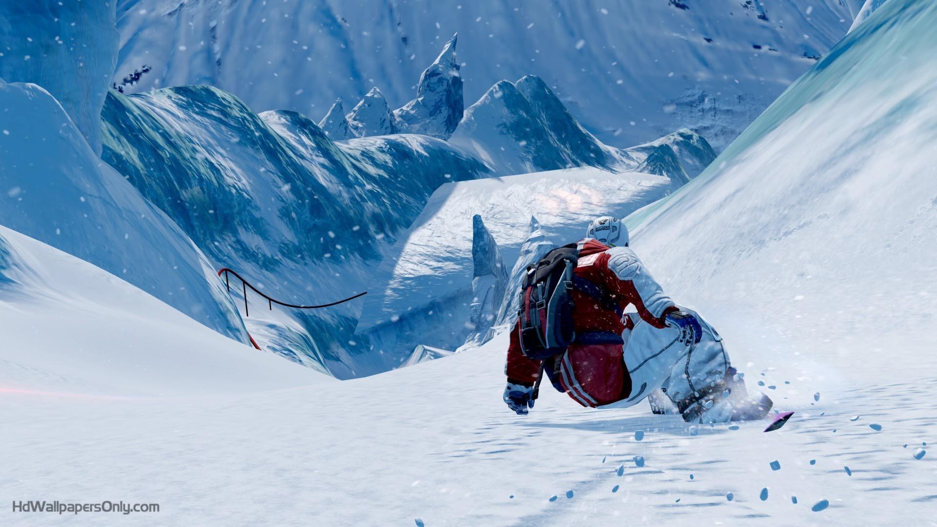Snowboarding Wallpaper Hd Image Photo For Dekstop 47403 Label .