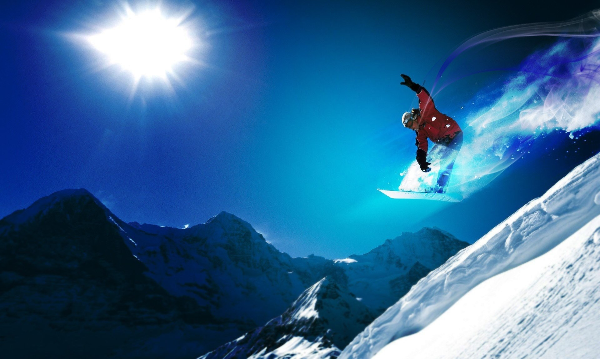 snowboard mountain extreme snowboard