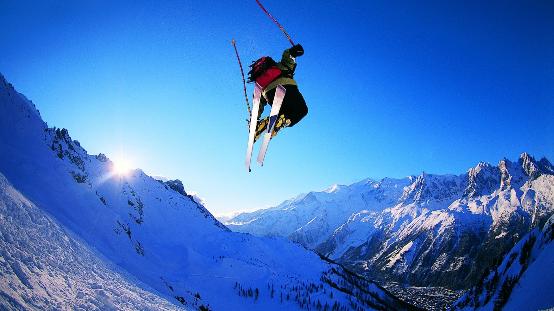 Snowboarding Skiing – Wallpaper, High Definition, High Quality .