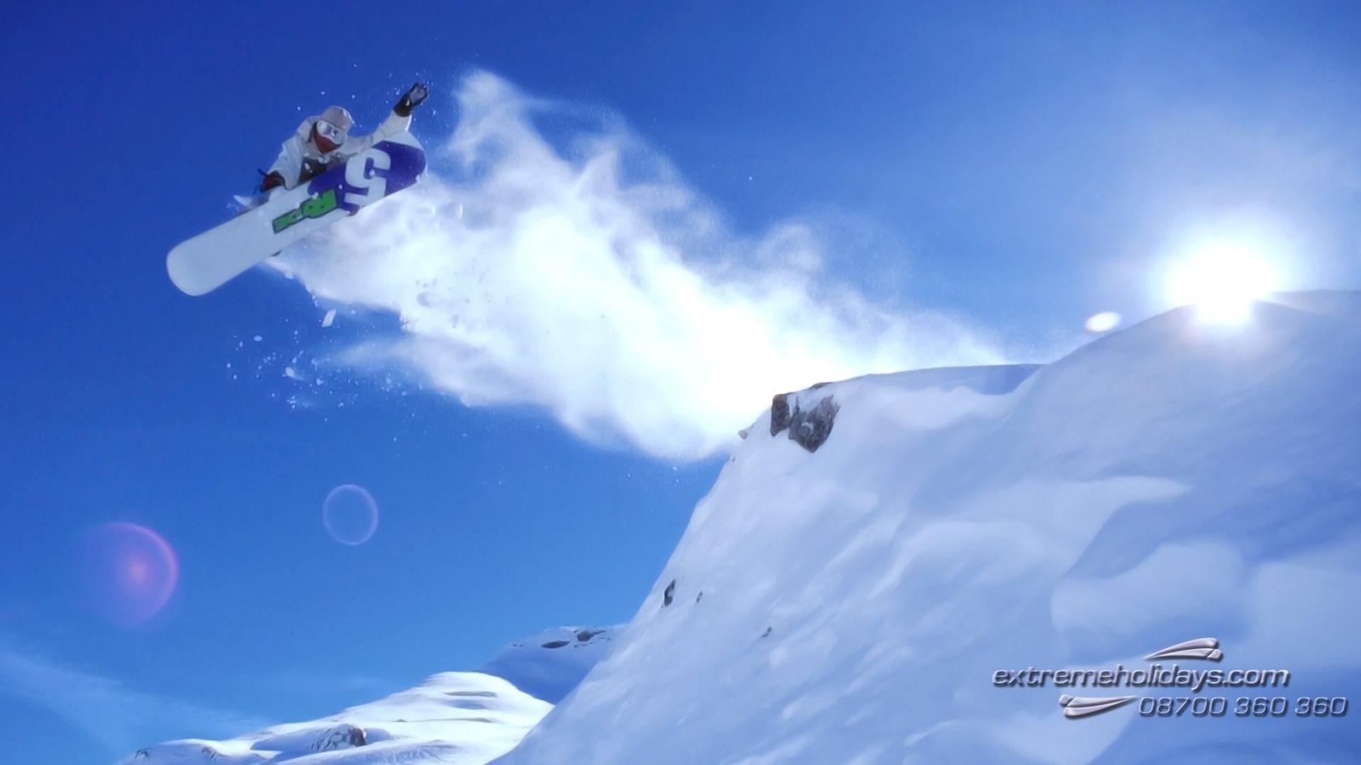 snowboarding snow winter sport widescreen hd wallpaper – (#9879 . …