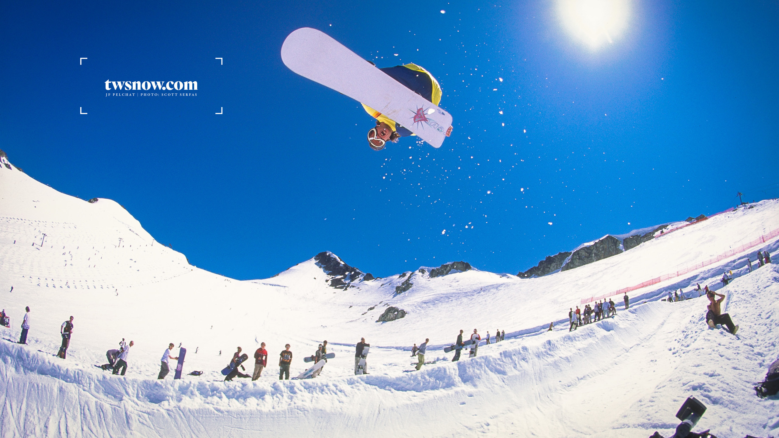 Photo: Scott Serfas Jf Pelchat shredding the public pipe around 96 or 97 up  on Camp Of Champions.
