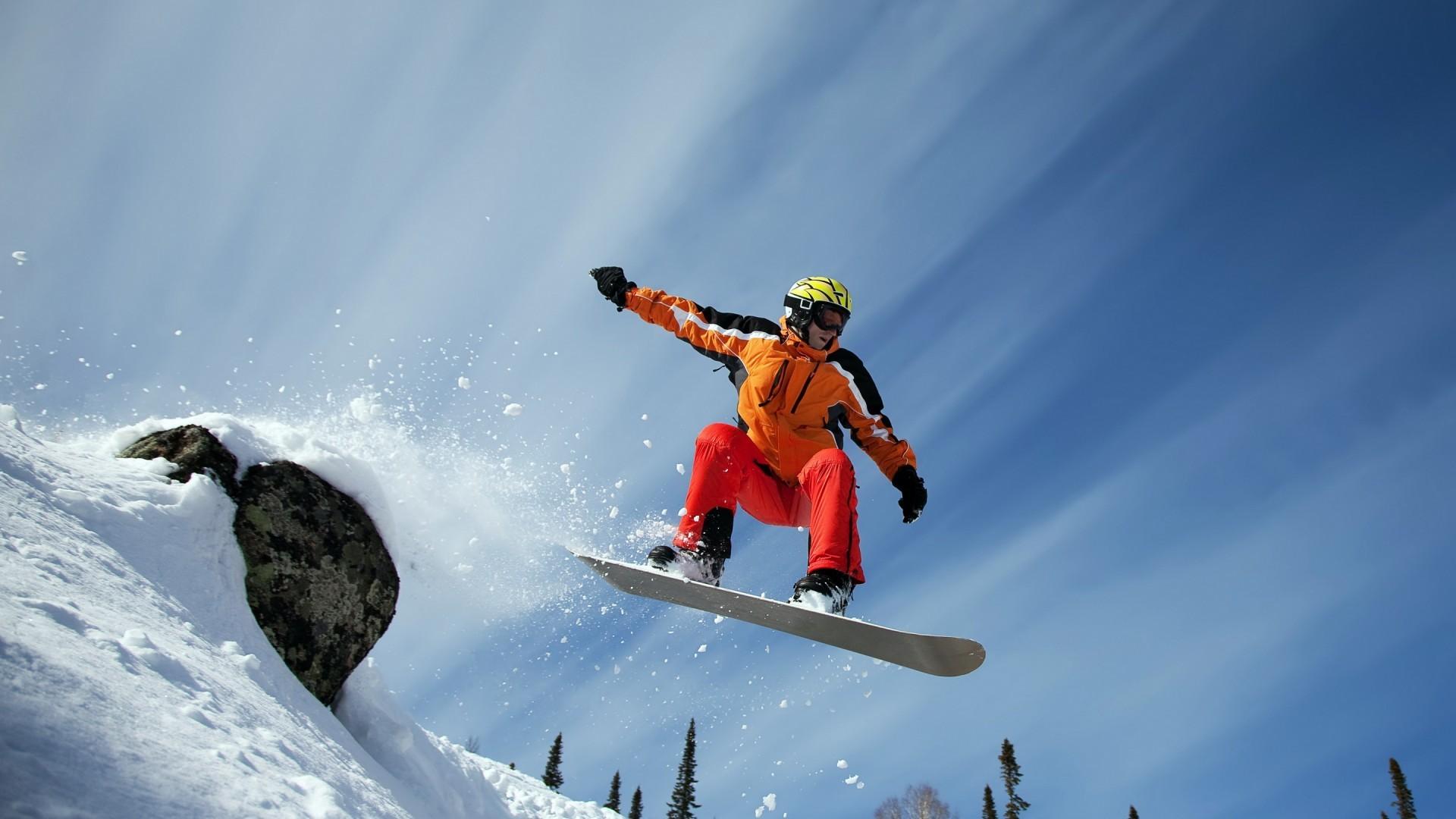 Good snowboarding wallpaper: