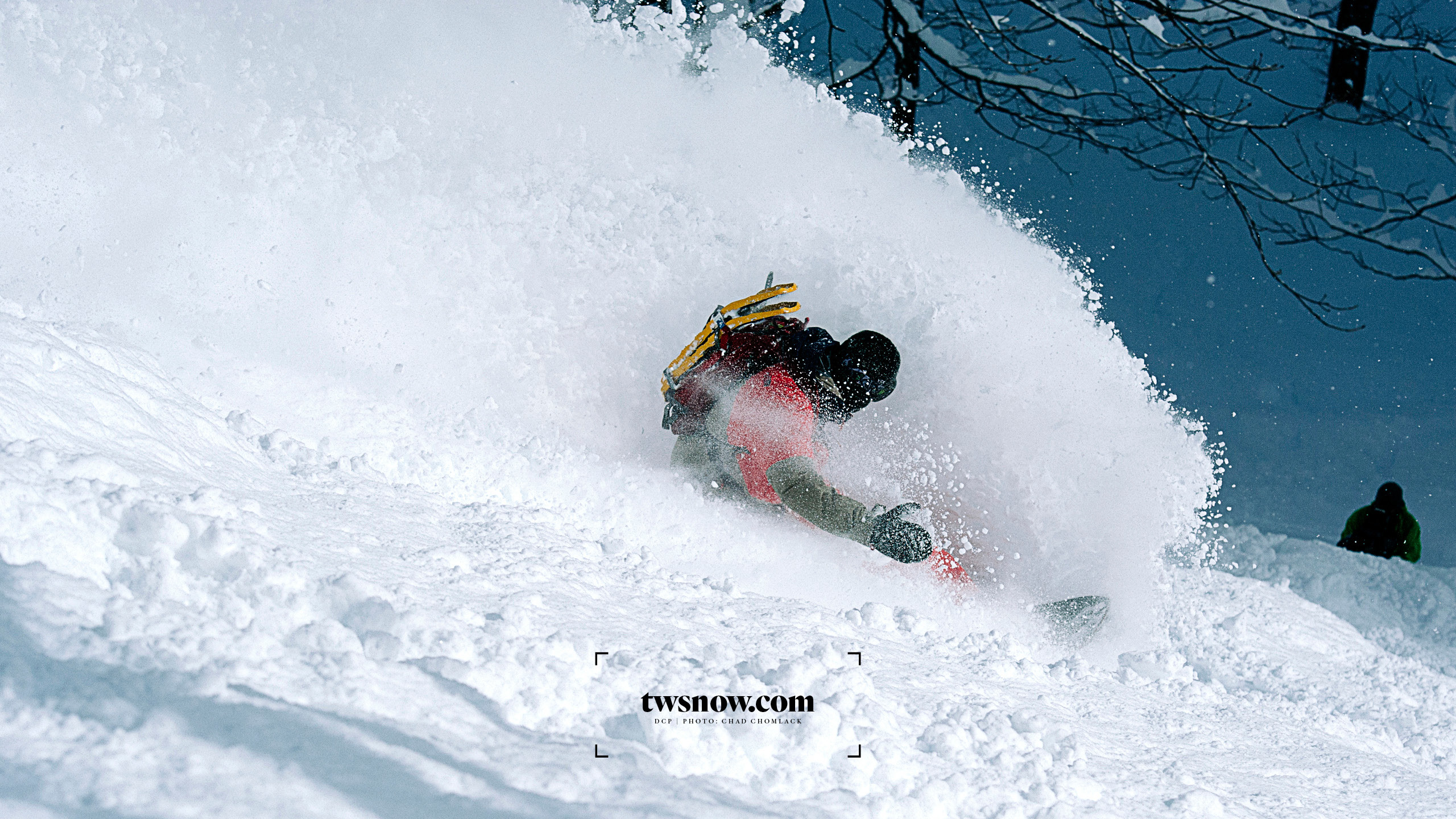 DCP doing what he does best with Japan pow! Photo: Chad Chomlack