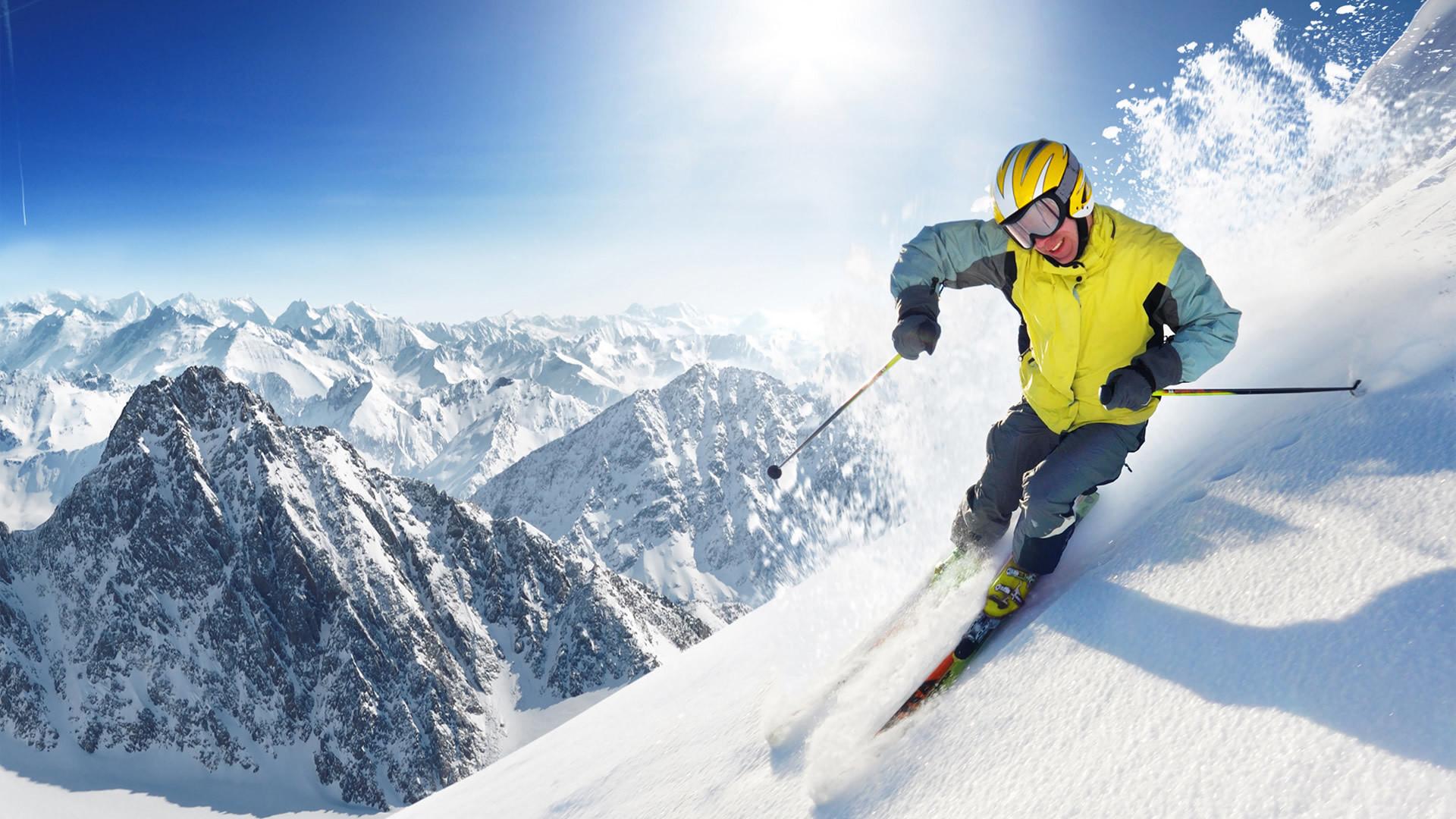 Skiing Wallpaper