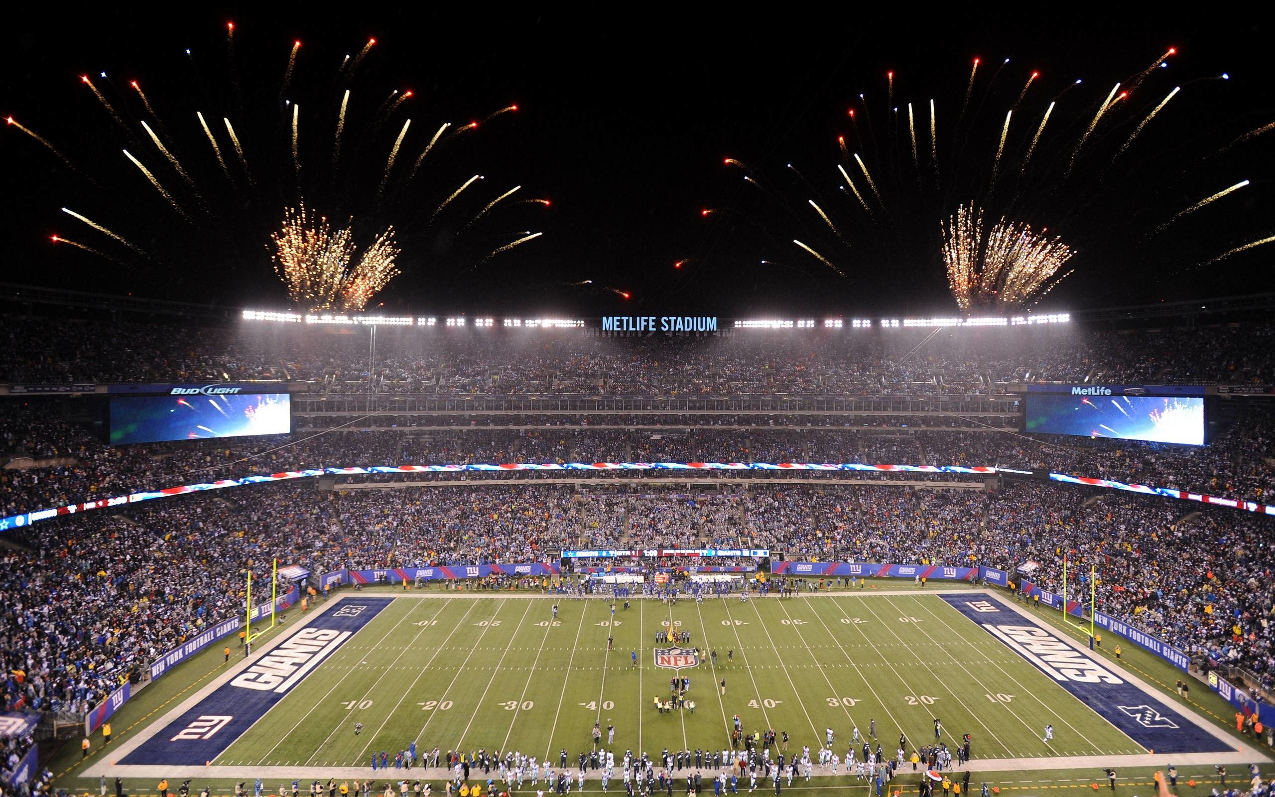 New York Giants Metlife Stadium wallpaper