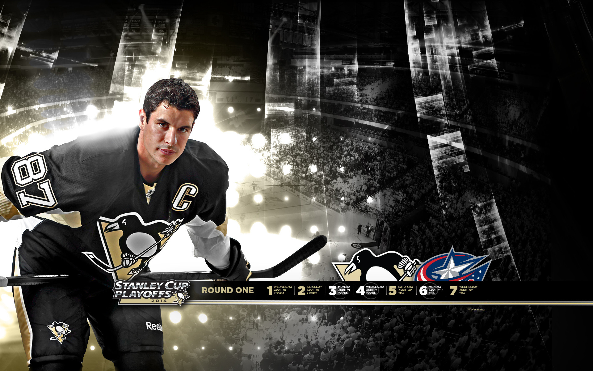 Pittsburgh Penguins Wallpapers and Cheer Cards