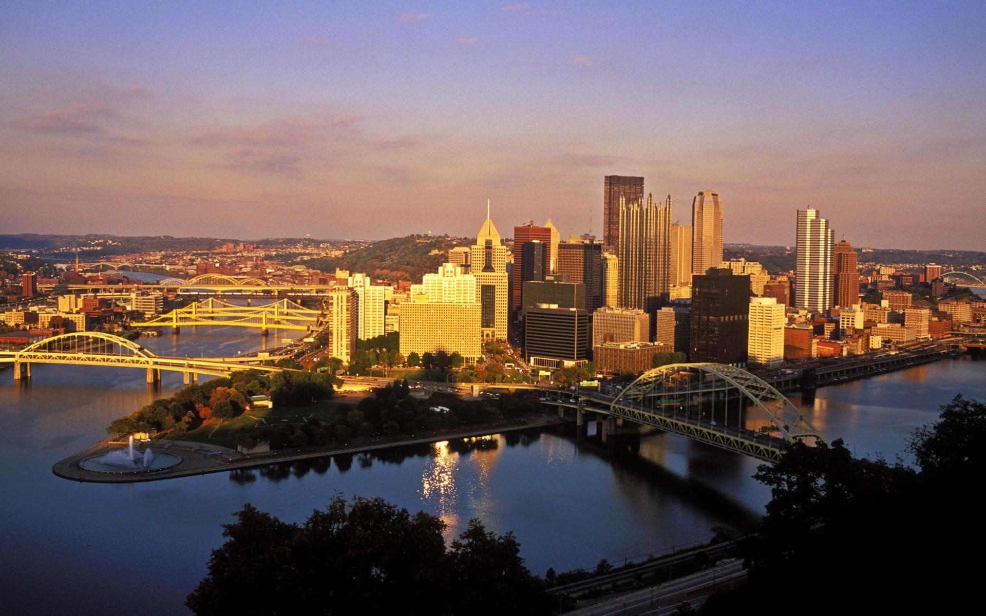 High Resolution Pittsburgh Skyline Wallpapers, Maxwell Berrow