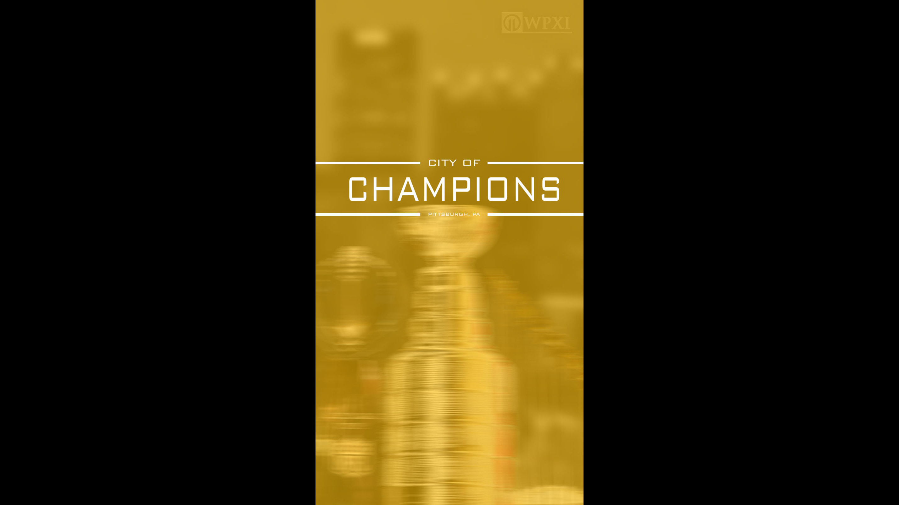 Show your Pittsburgh pride with CITY OF CHAMPIONS wallpaper!