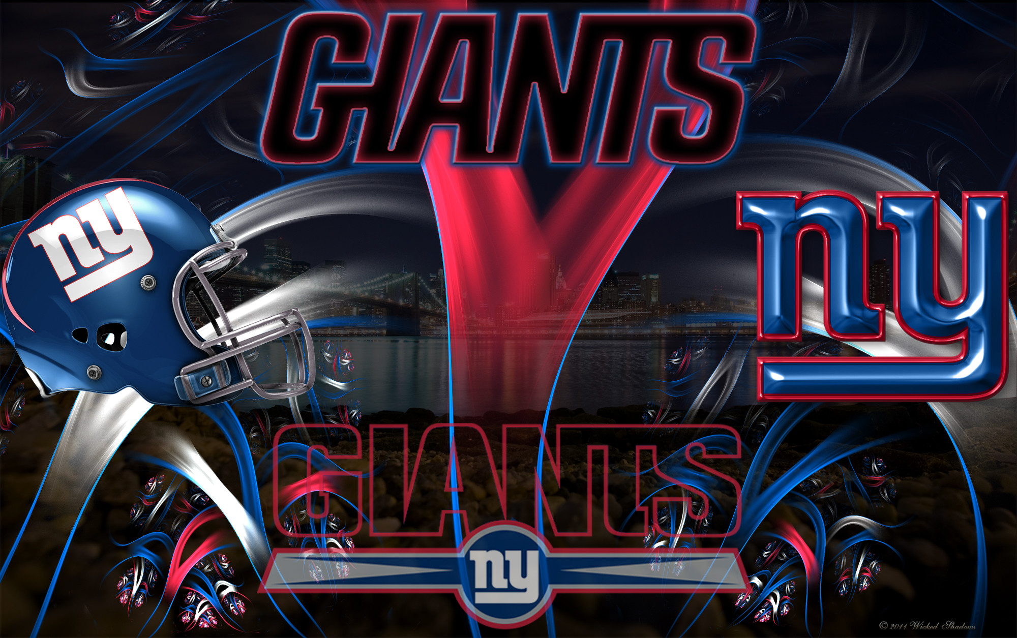 New York Giants Wicked Wallpaper