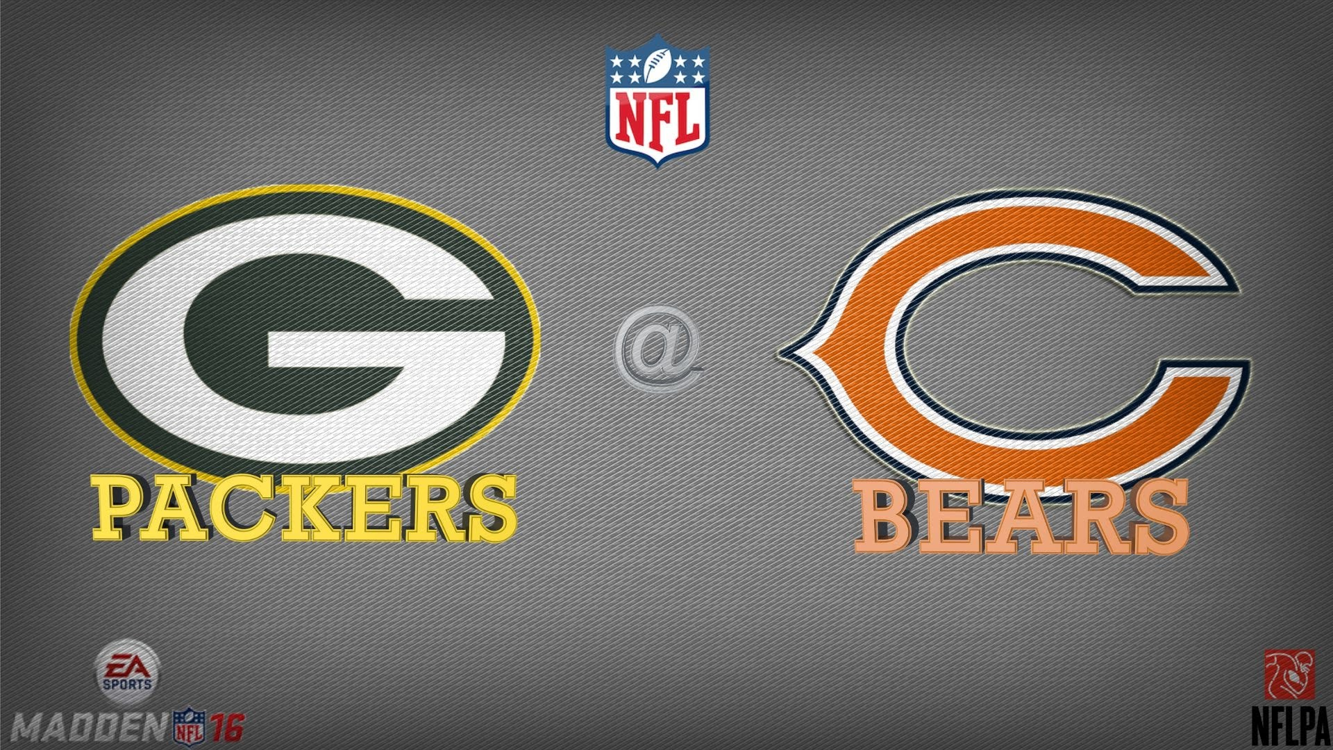Madden 16 (PS4): Week 1 Prediction- Green Bay Packers @ Chicago Bears FULL  GAME HD