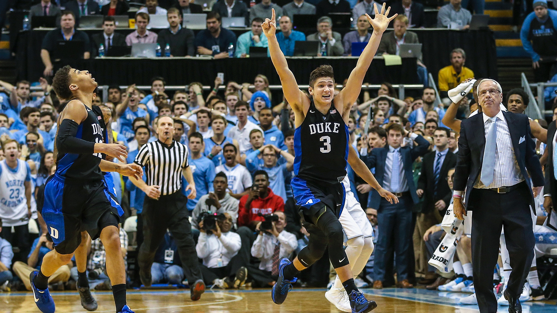 Duke vs North Carolina photos : Incredible photos from Duke-North Carolina  | COLLEGE BASKETBALL | Pinterest | Duke vs and College basketball