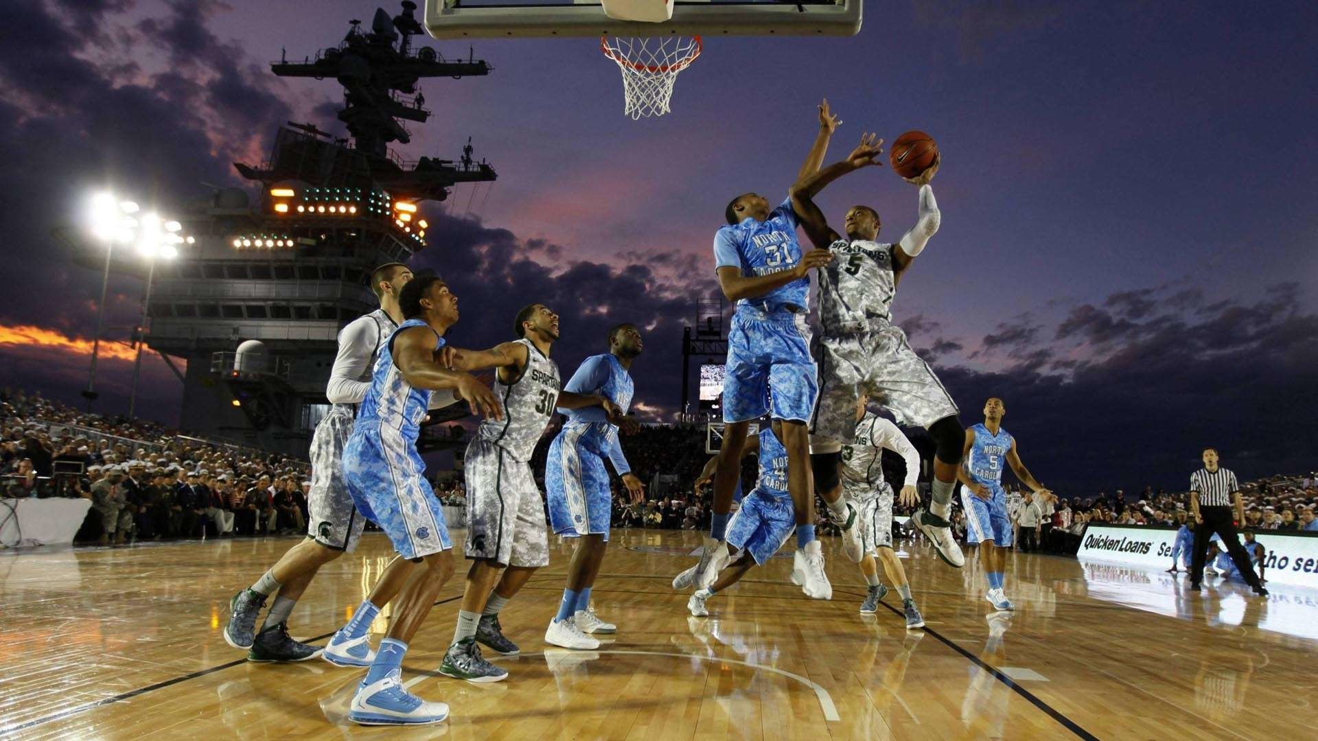 College Basketball Wallpaper