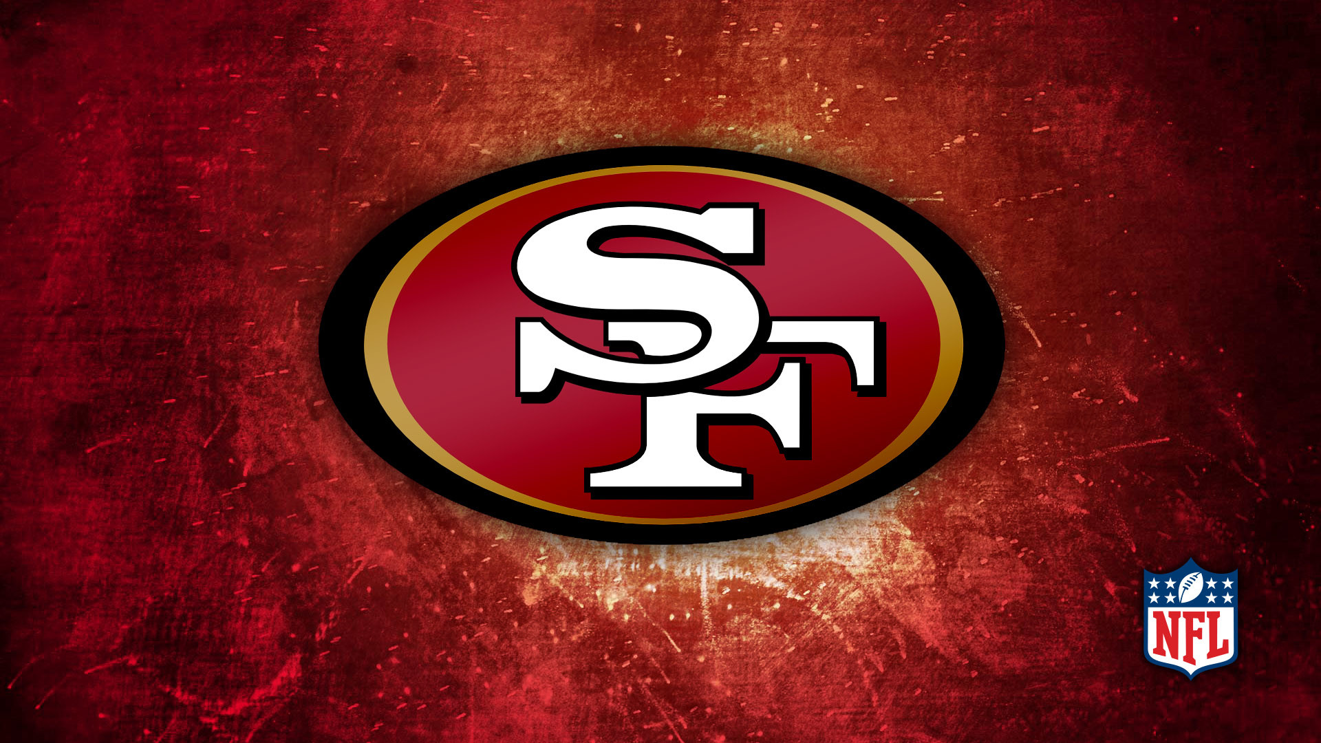 San Francisco 49ers logo background – HD Wallpapers