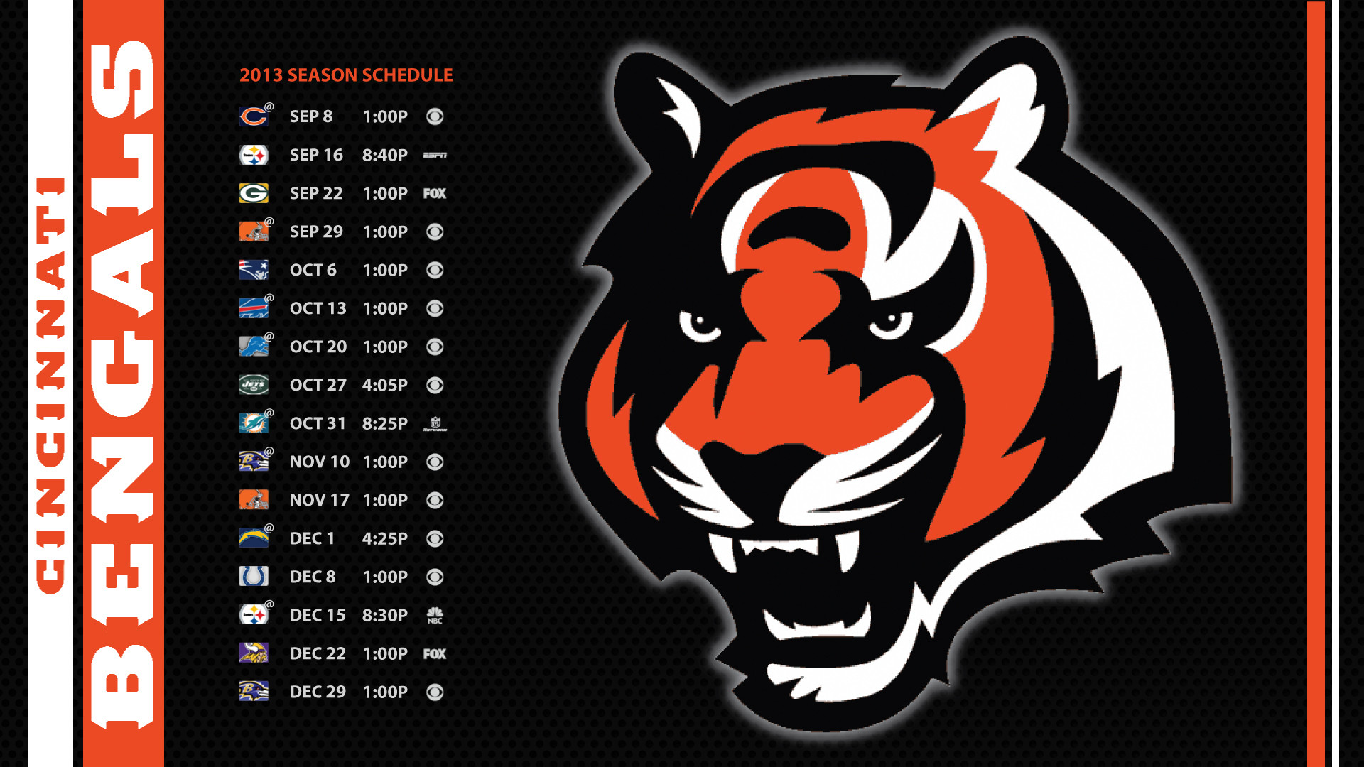 wallpaper images you would like us to post on bengals.com?