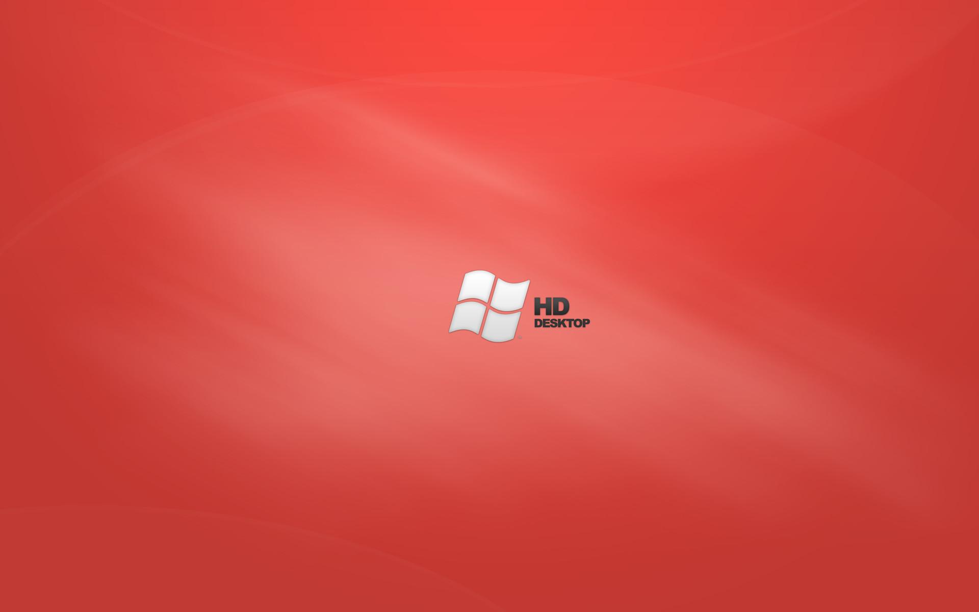 windows desktop wallpaper vista red 1920×1200