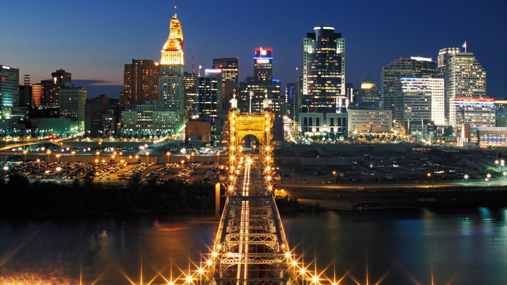 Explore Cincinnati Skyline, Cincinnati Reds and more!