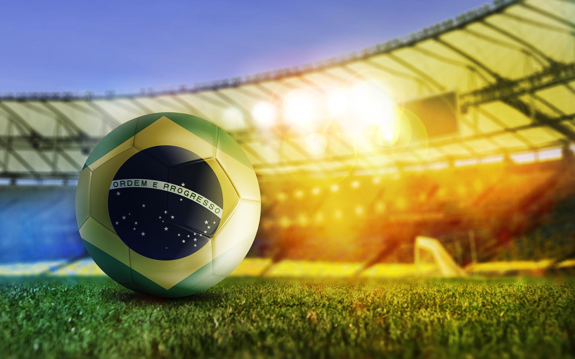 Brazilian football sport hd wallpaper background 1920×1200.