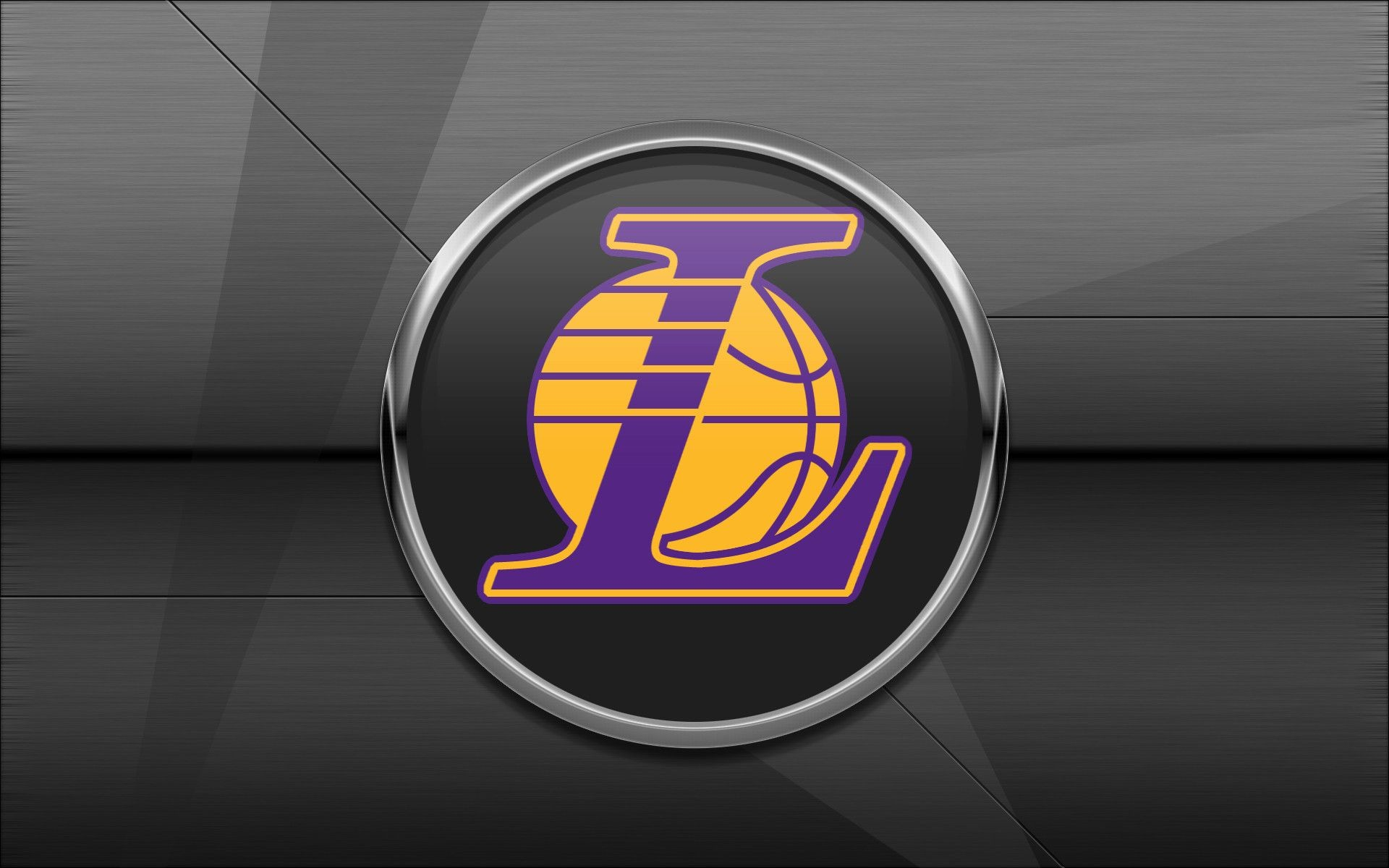 Lakers logo wallpapers HD.