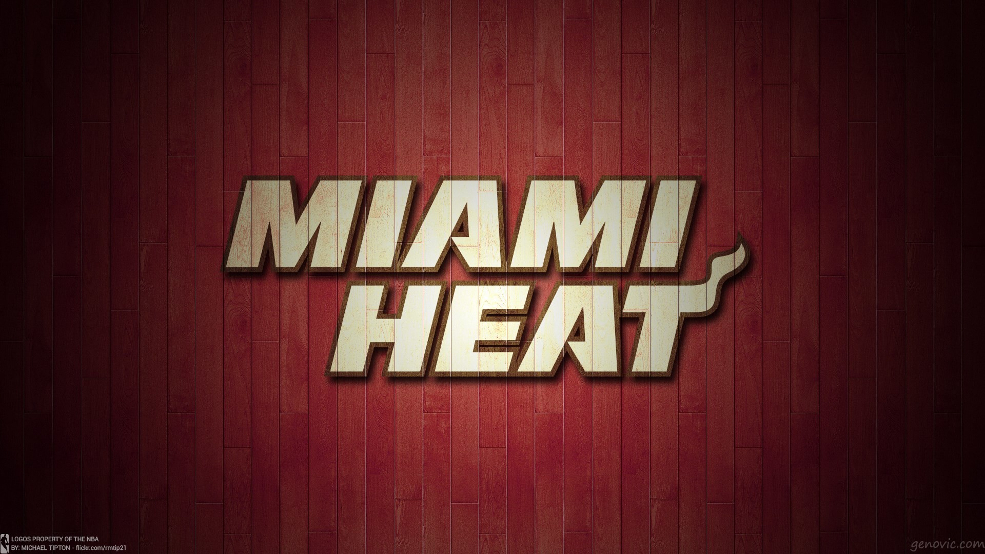 Miami Heat Logo Wallpaper – WallpaperSafari