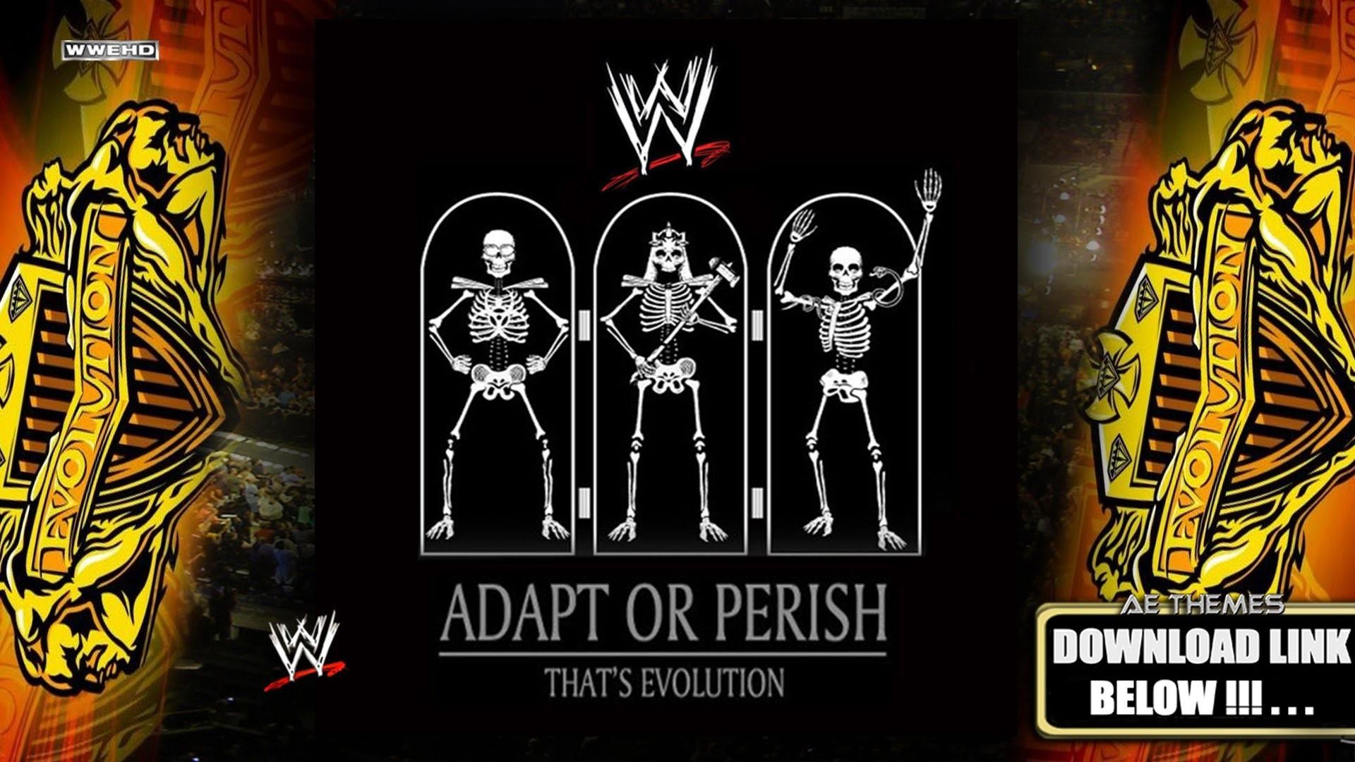 WWE – Evolution [Adapt Or Perish] (Arena Effect) [Full Album]