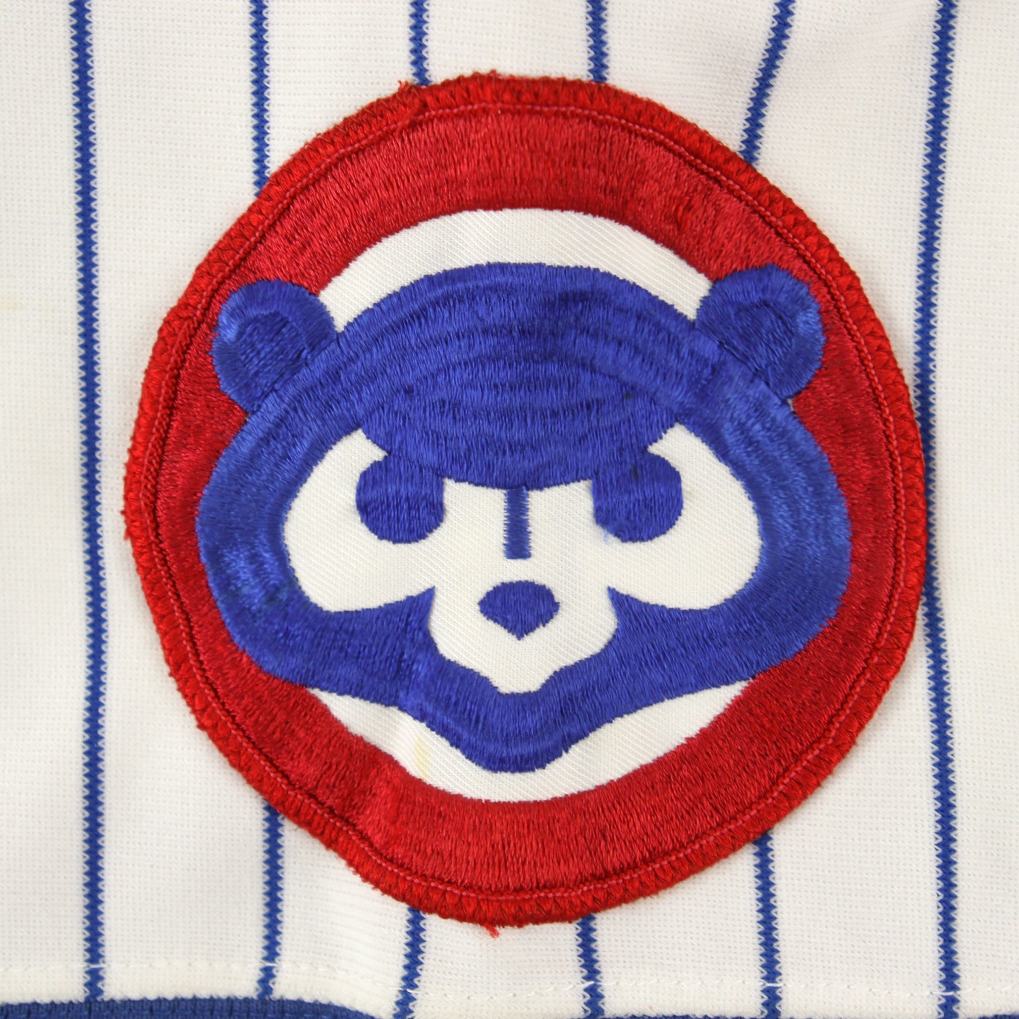 1982 Mel Hall Chicago Cubs Game Worn Home Jersey (MEARS A10)