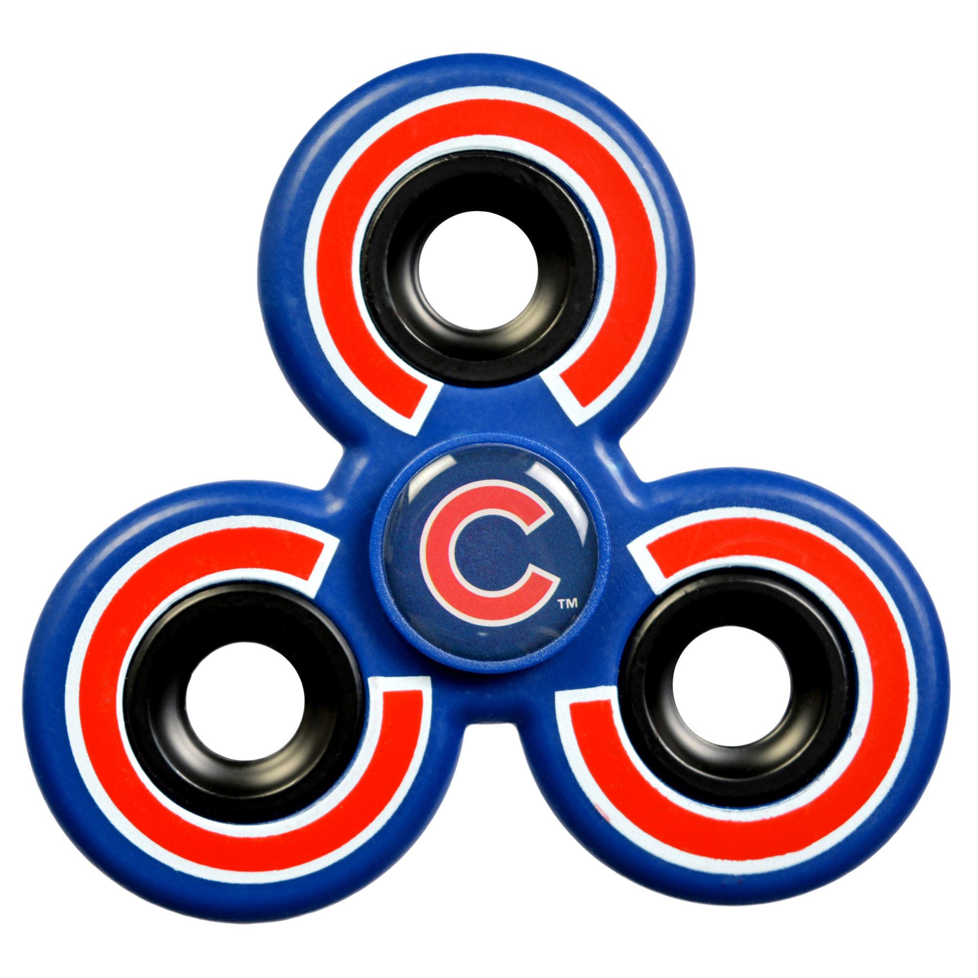 Chicago Cubs Three-Way Molded Logo Fidget Spinner