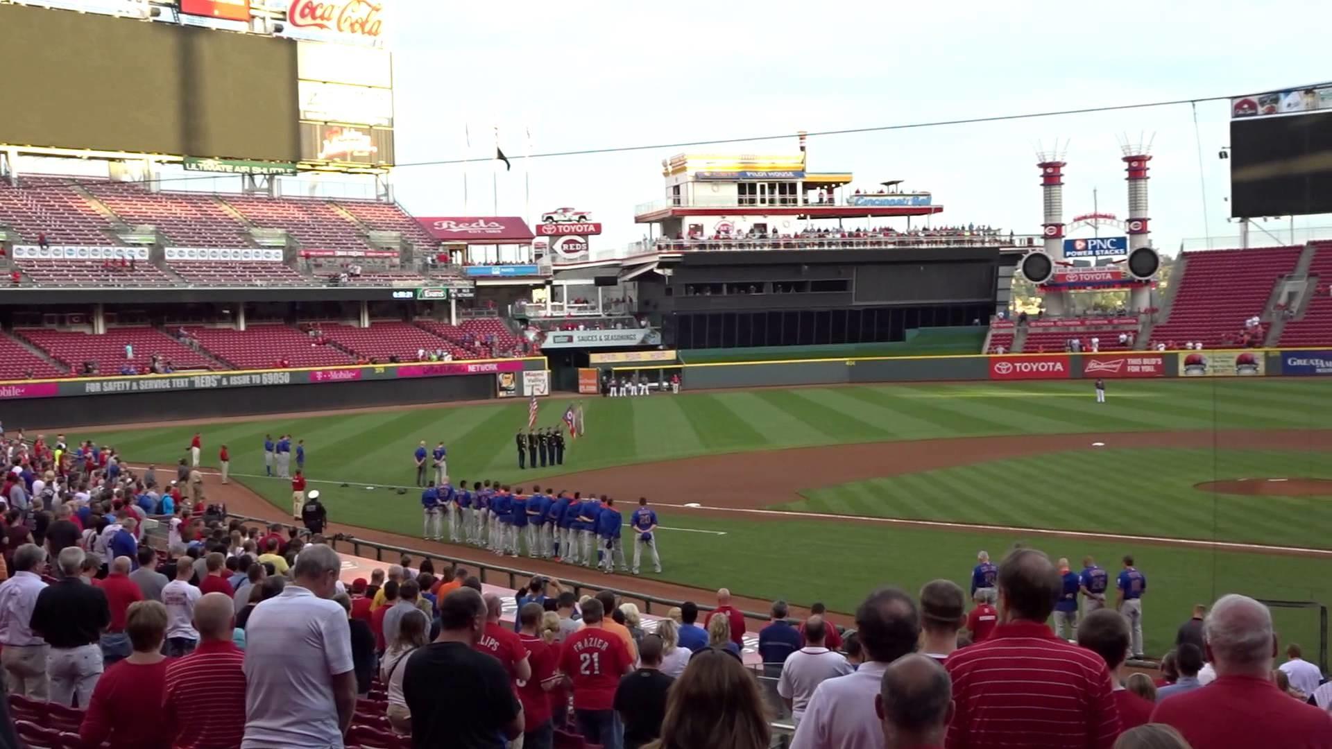 Cincinnati Reds – National Anthem – April Hilen – 9/24/2015