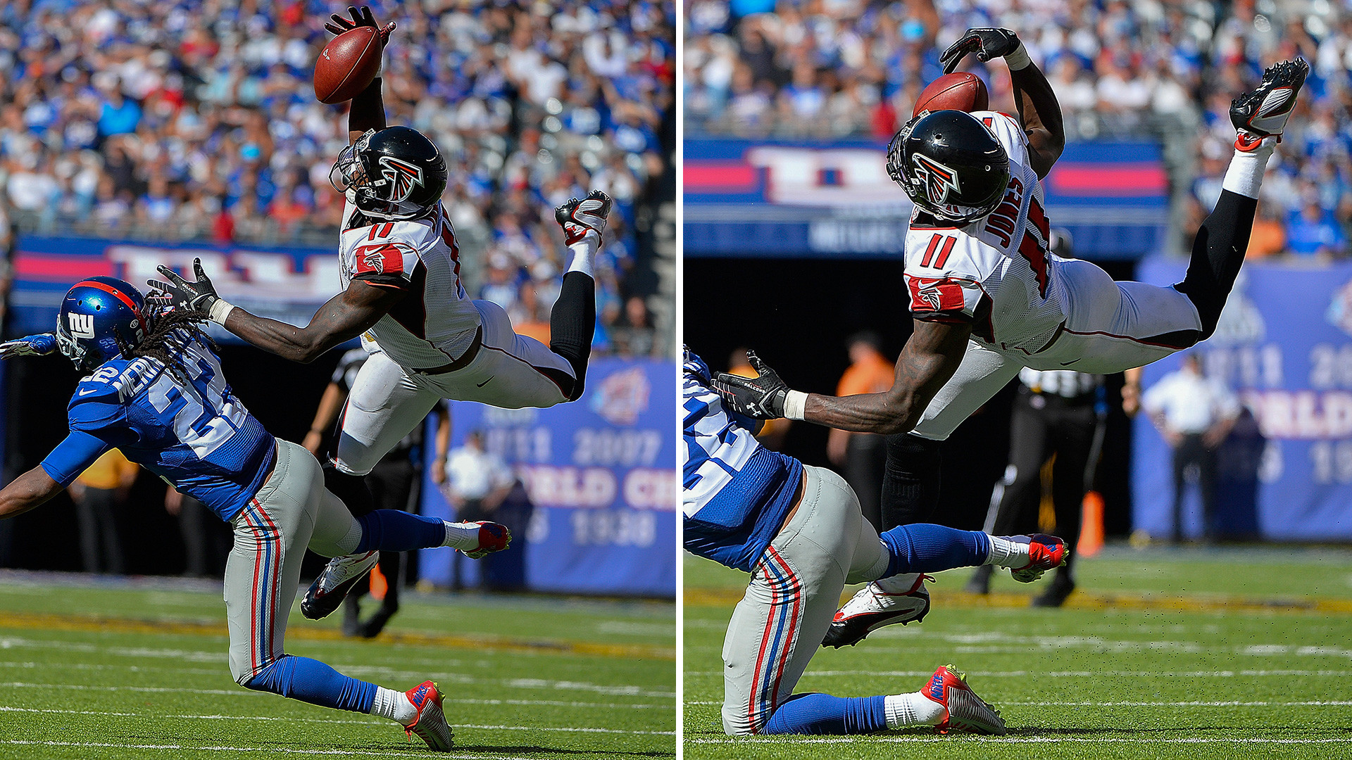 NFL Week 2 highlights: Wild plays from Julio Jones, Cam Newton, others    NFL   Sporting News