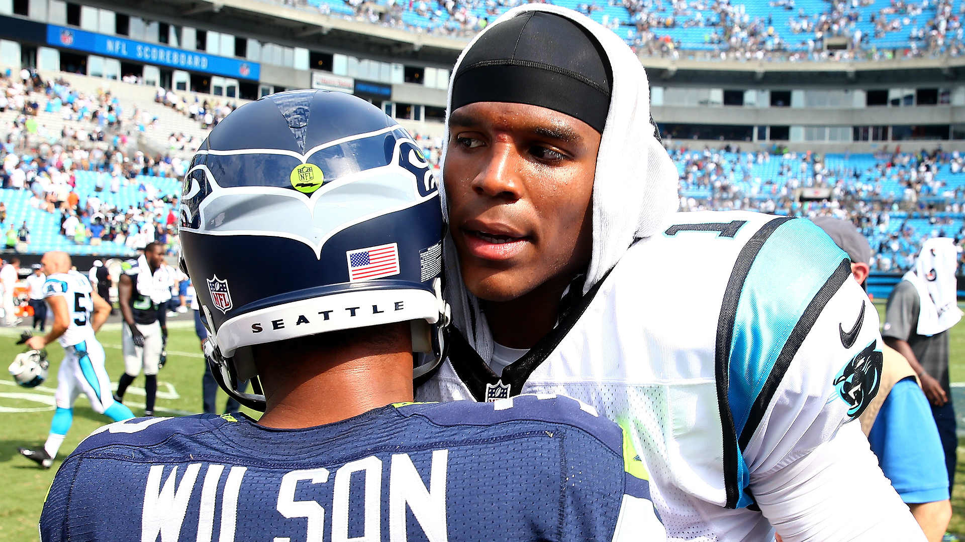 Seahawks fan creates petition to ban Cam Newton from CenturyLink Field    NFL   Sporting News