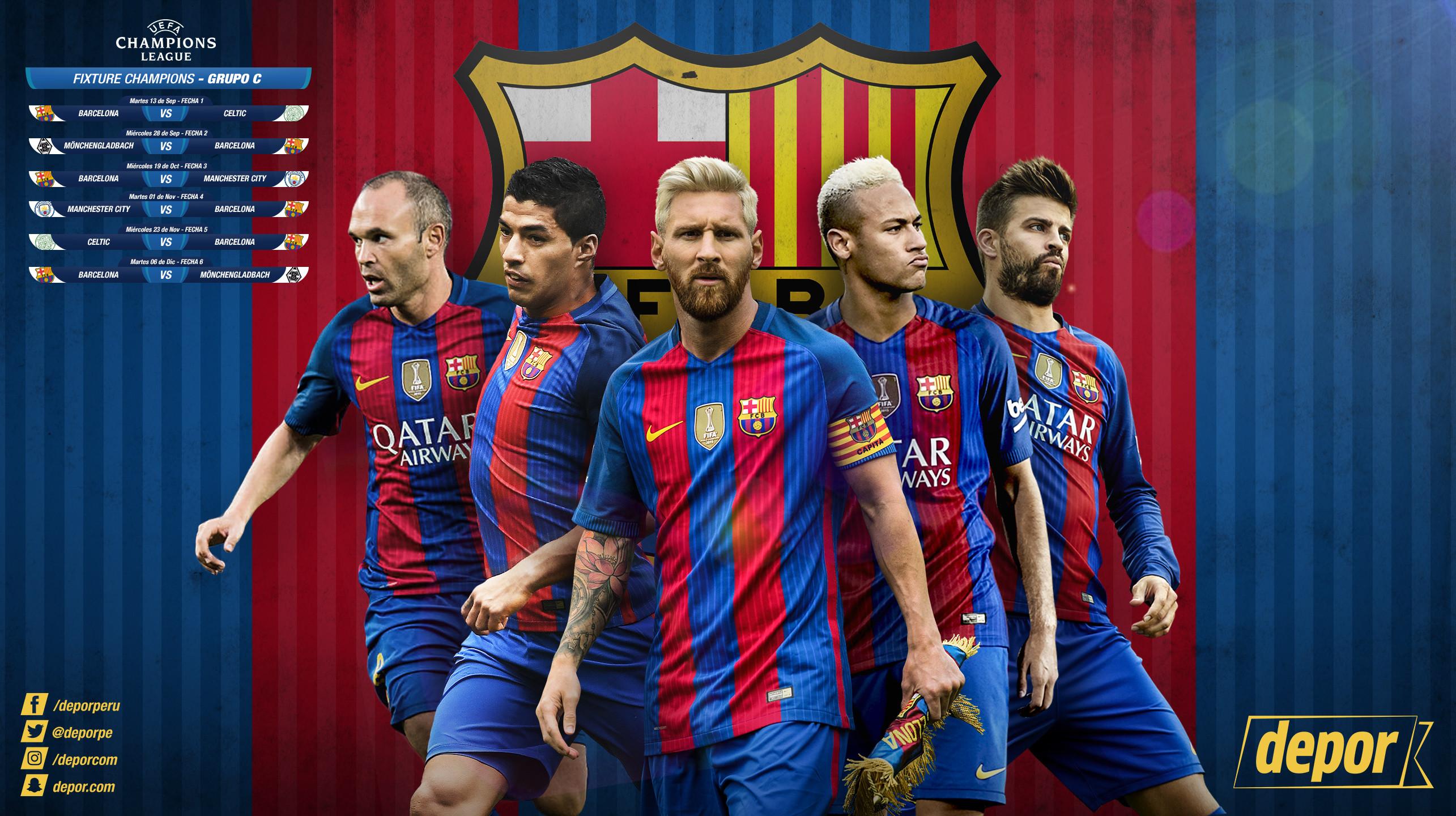 AQUÍ puedes descargar el Wallpaper del Barcelona para PC.